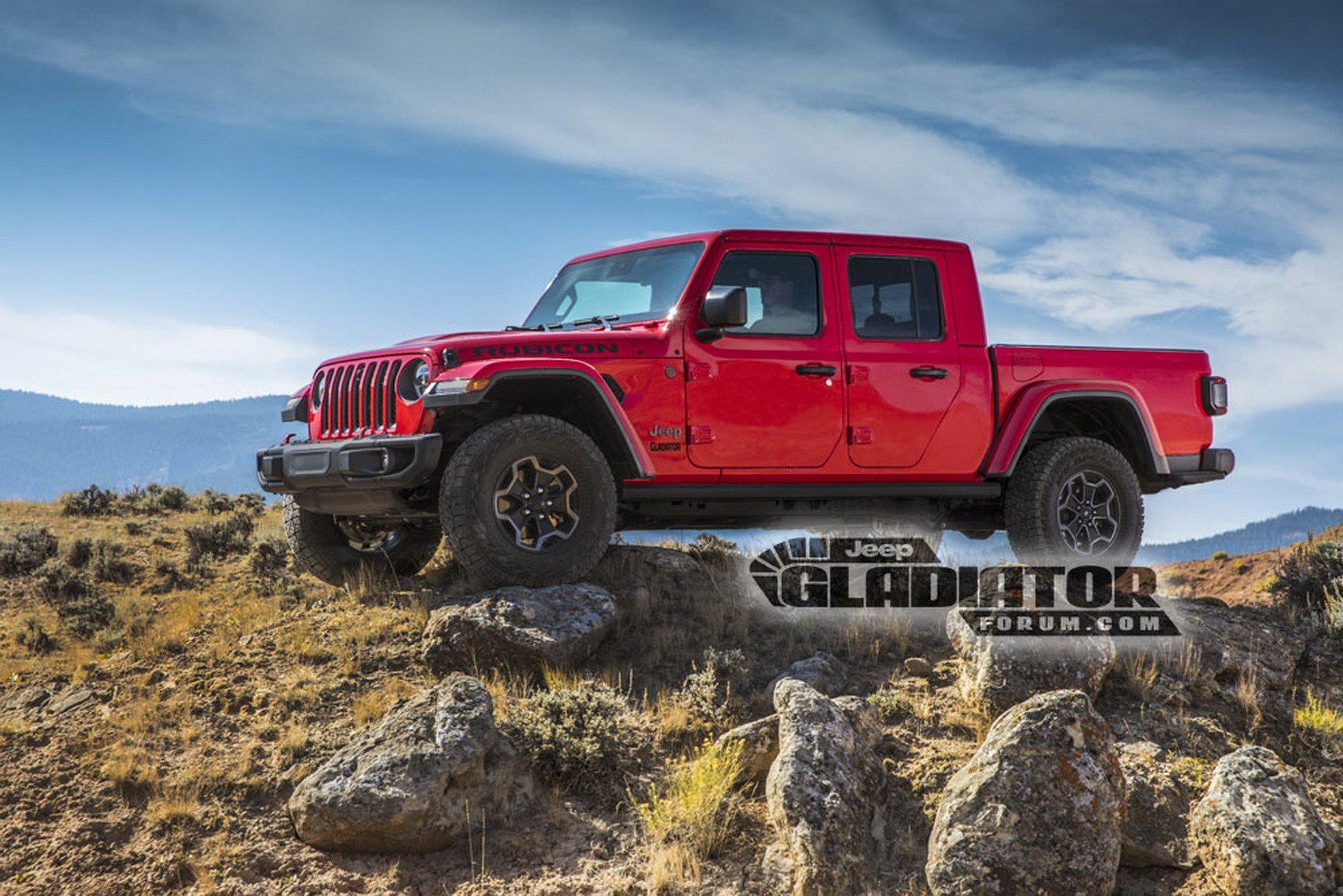Jeep Gladiator Wrangler Pick Up Dm 3