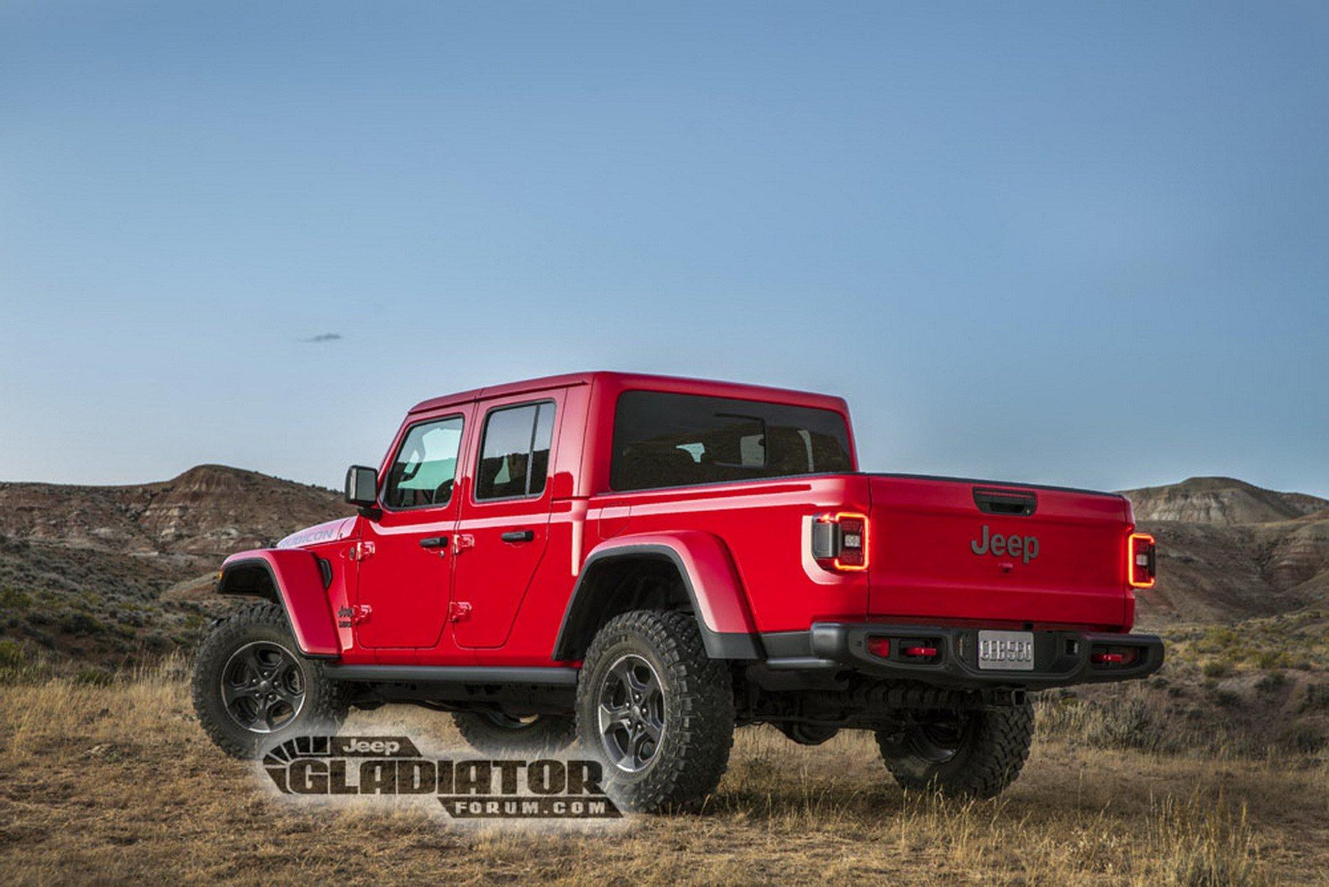 Jeep Gladiator Wrangler Pick Up Dm 4