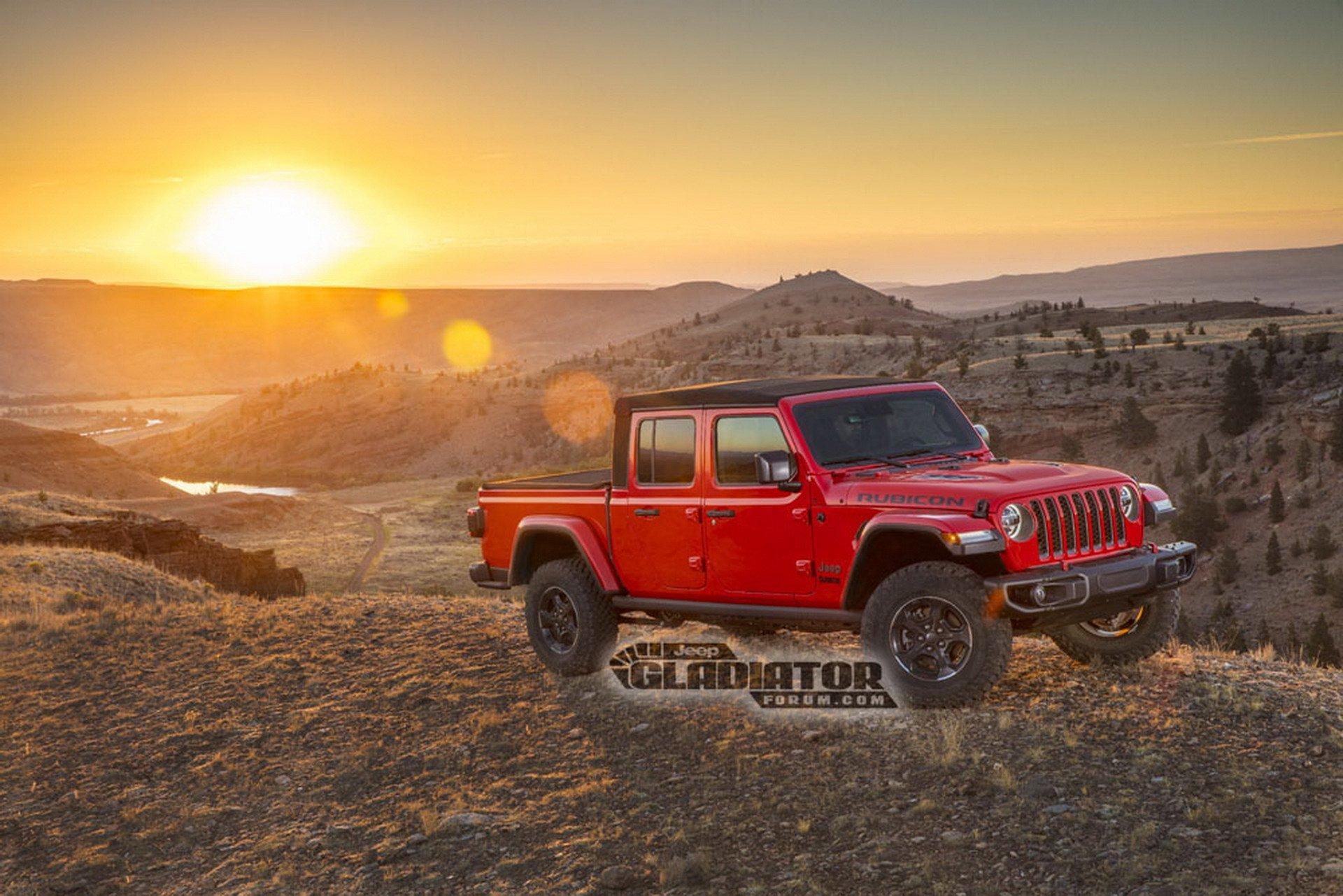 Jeep Gladiator Wrangler Pick Up Dm 5