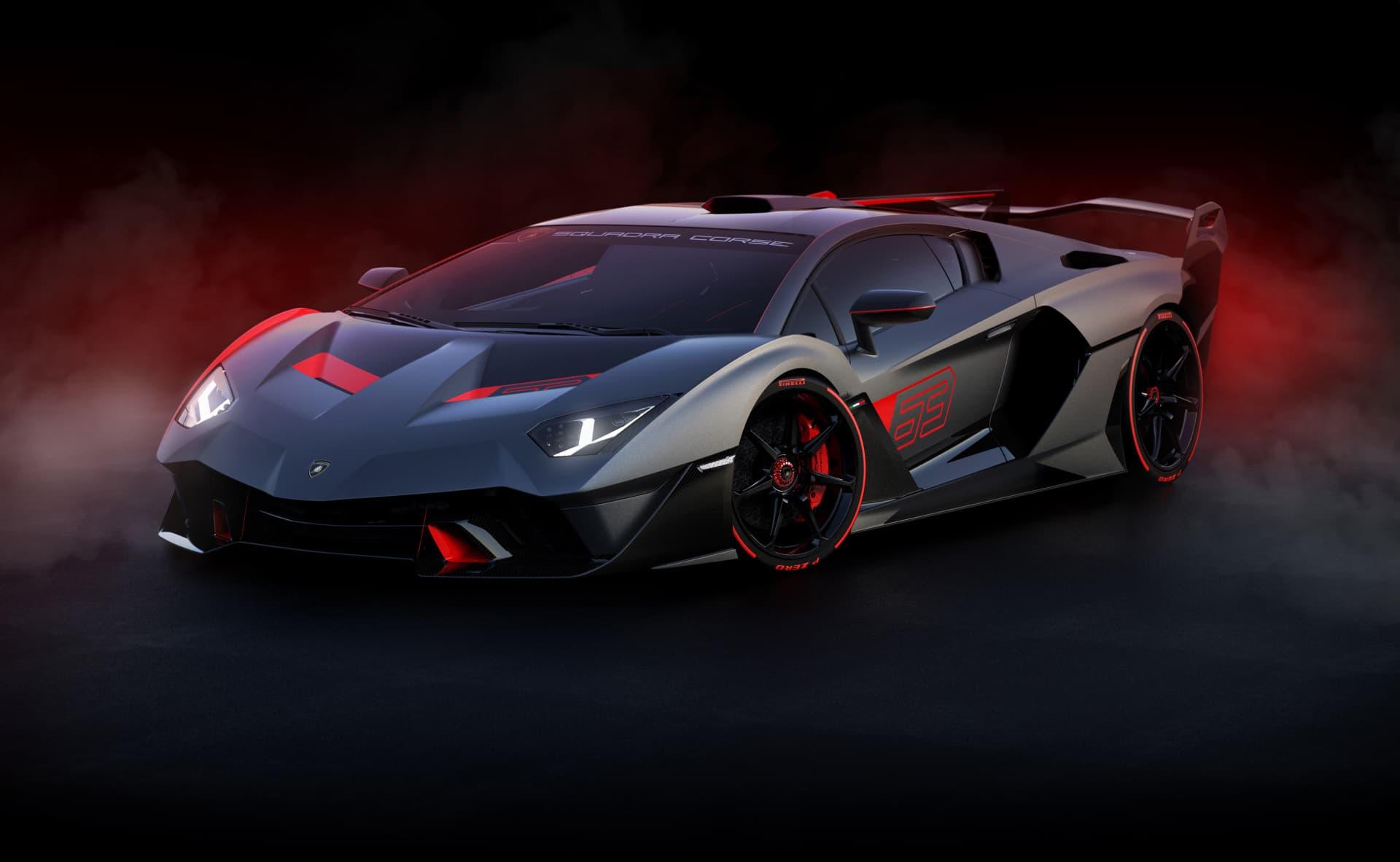 Lamborghini Sc18 Alston El Primer Coche De Carretera Creado Por Squadra Corse Es Un One Off