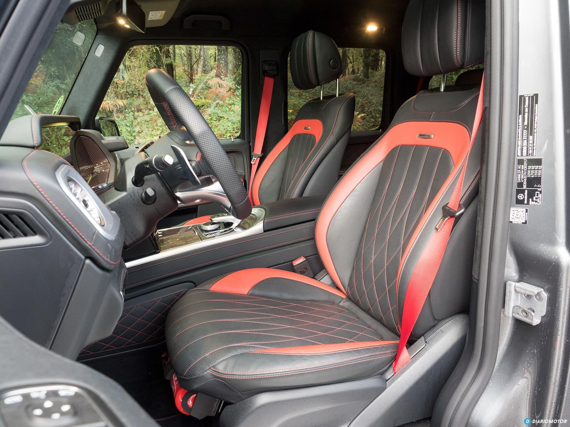 Mercedes Amg G 63 Interior 00005