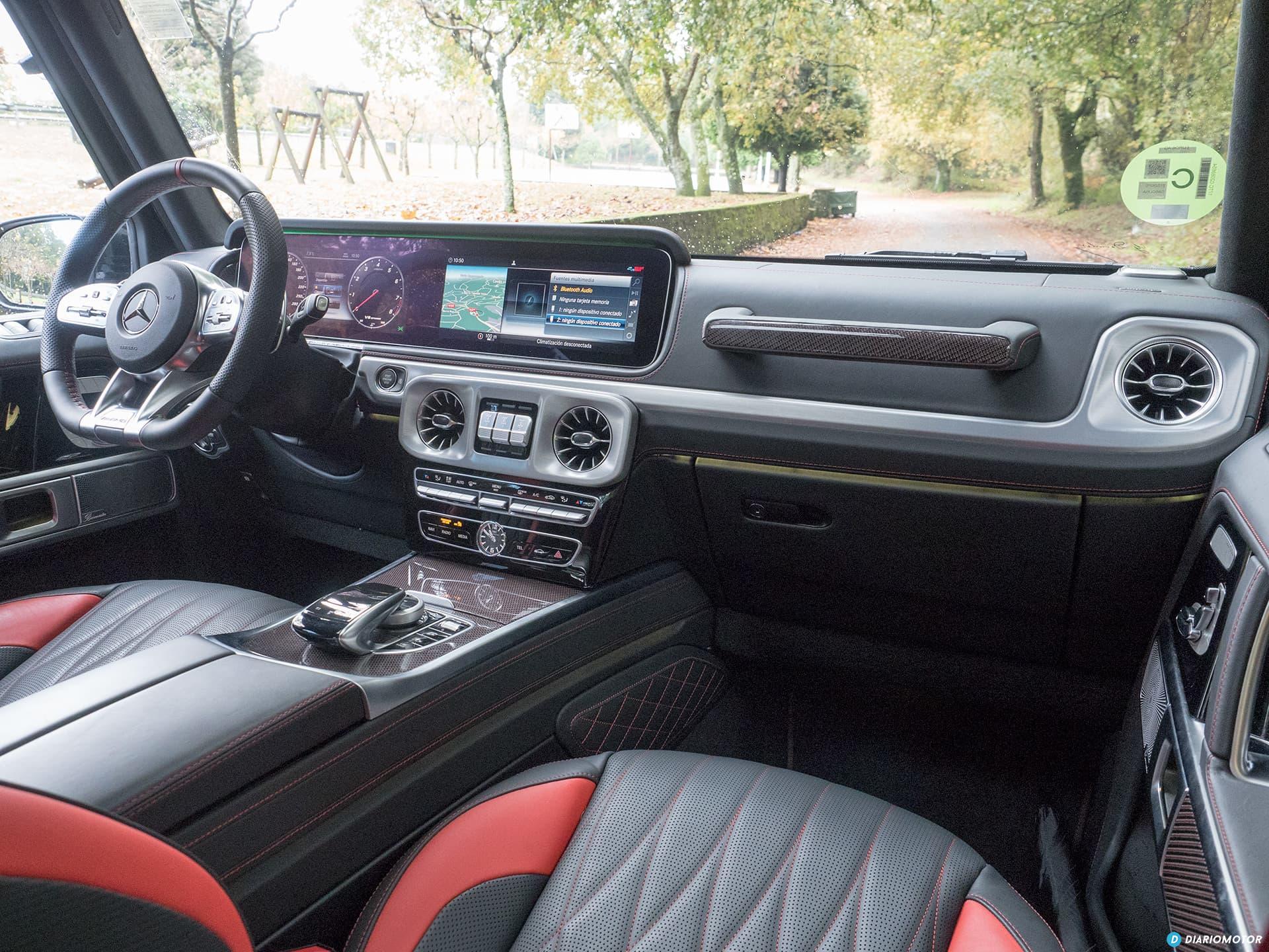 Mercedes Amg G 63 Interior 00008