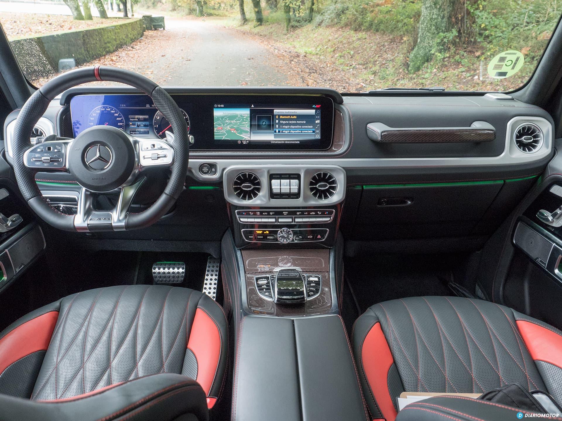 Mercedes Amg G 63 Interior 00012
