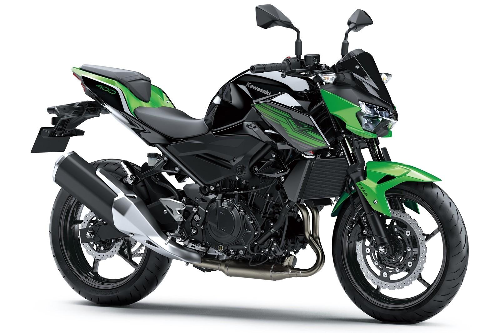 Moto Kawasaki Z400 Dm 10