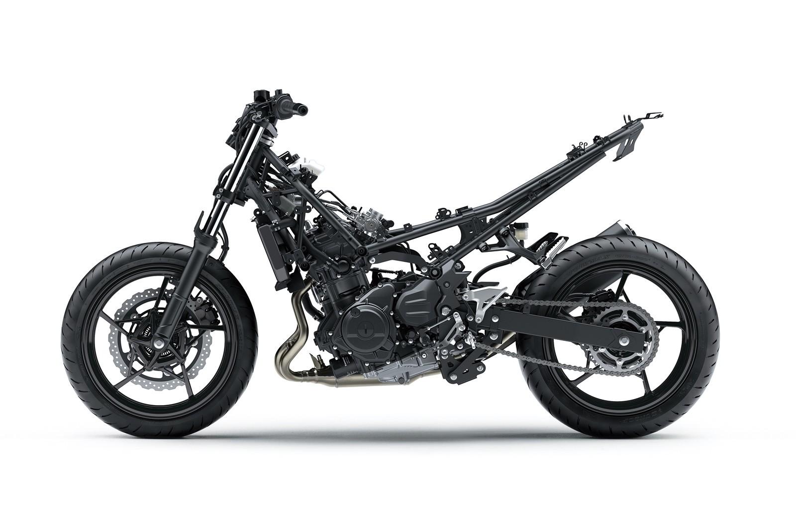 Moto Kawasaki Z400 Dm 16