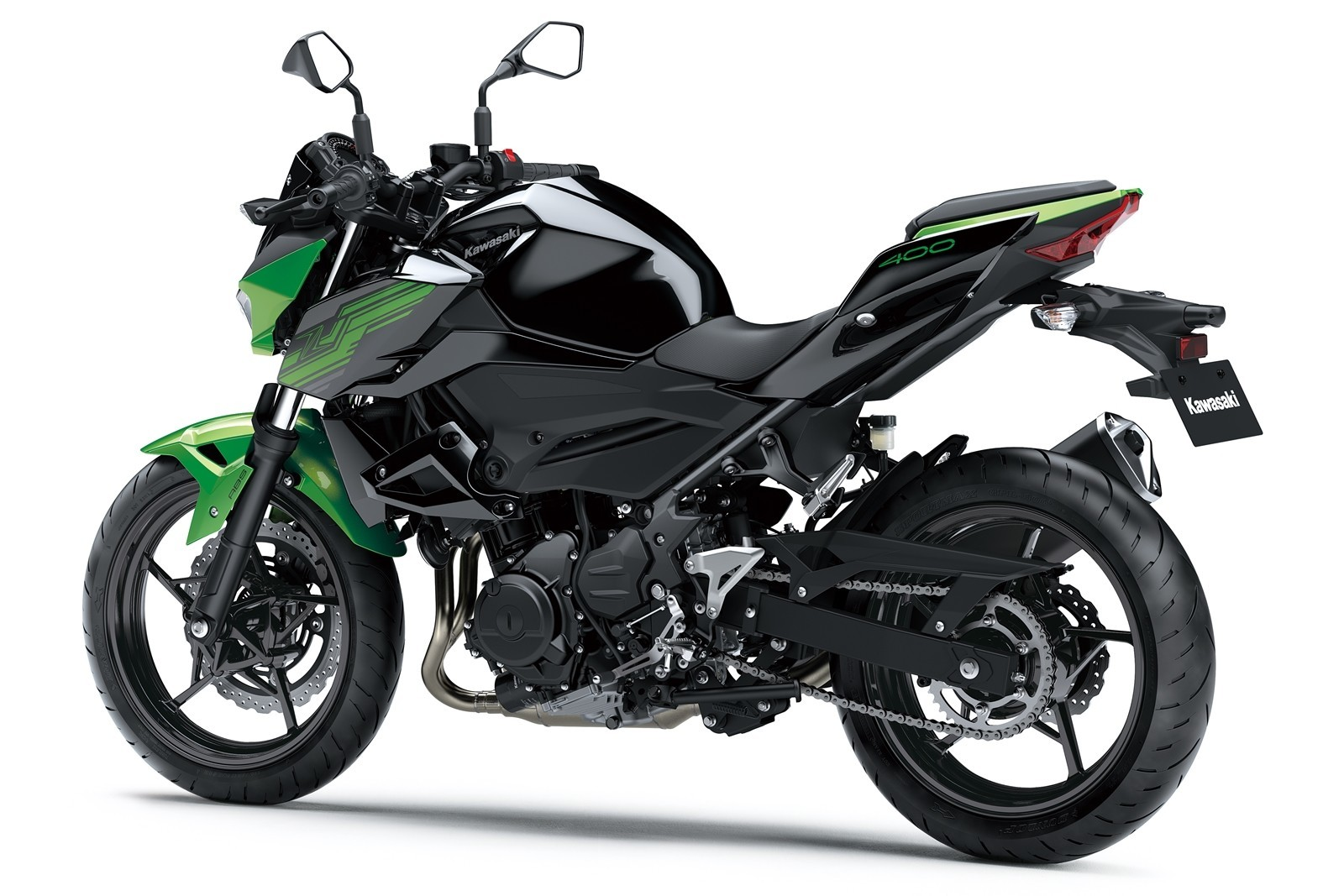 Moto Kawasaki Z400 Dm 8