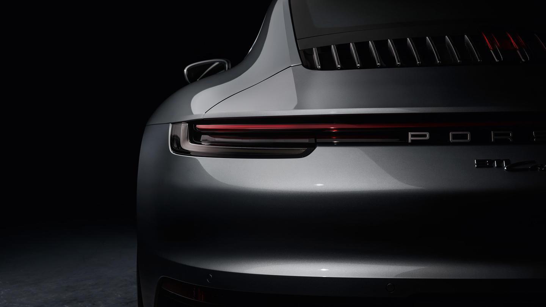 Porsche 911 2019 992 Detalle Trasera