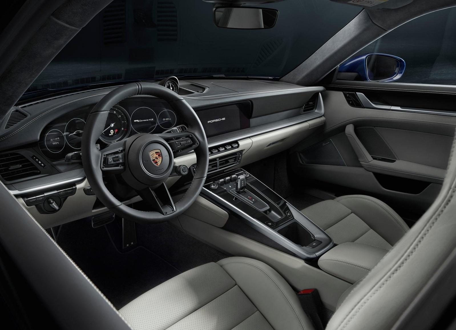 Porsche 911 2019 992 Interior 2
