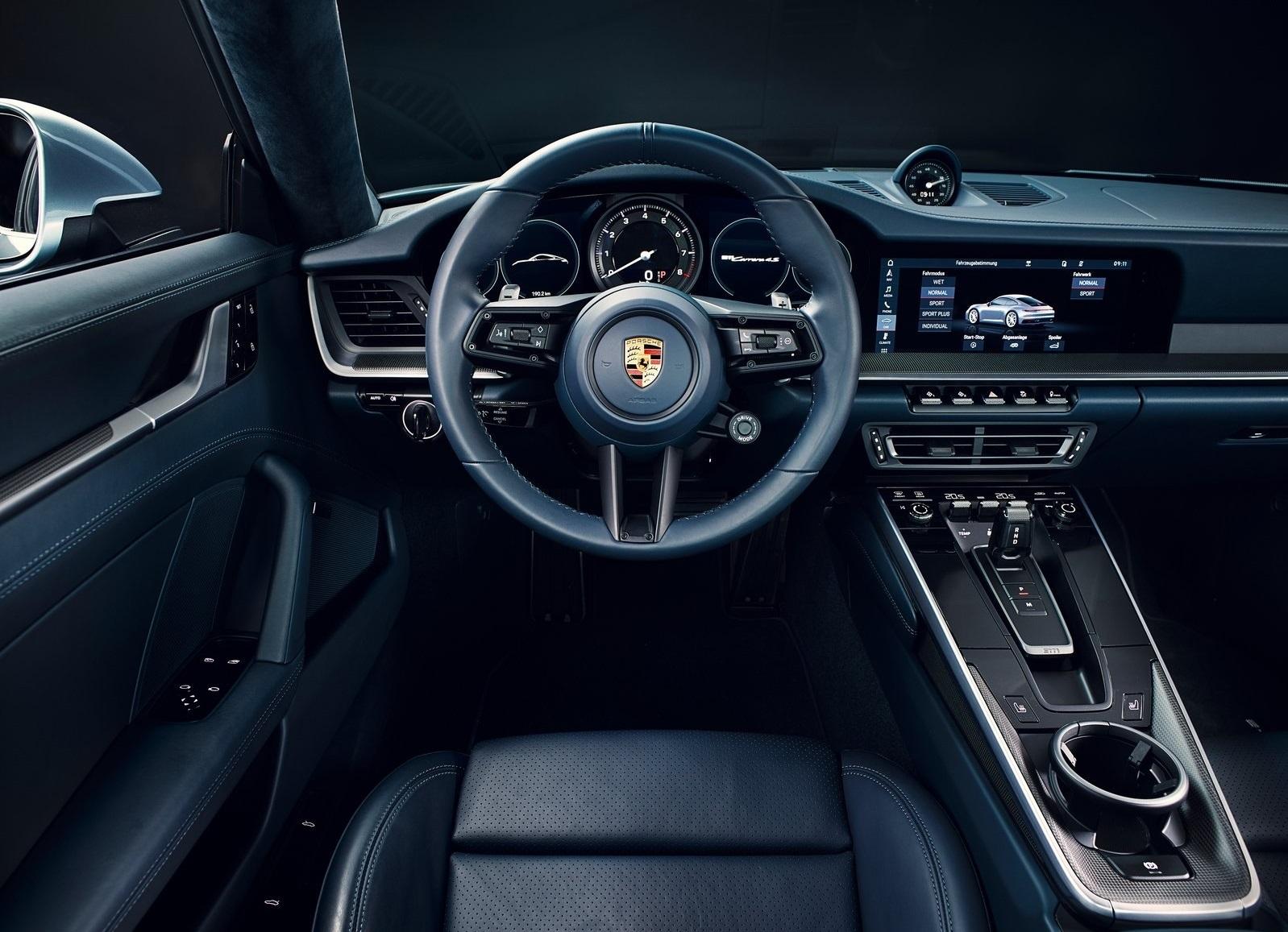 Porsche 911 2019 992 Interior