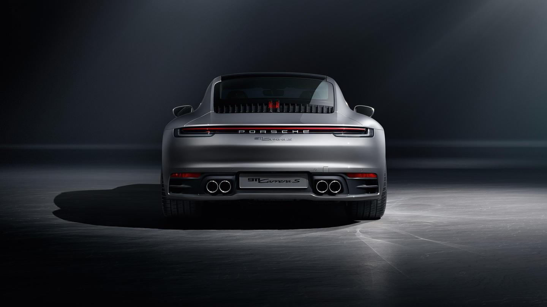 Porsche 911 2019 992 Vista Trasera