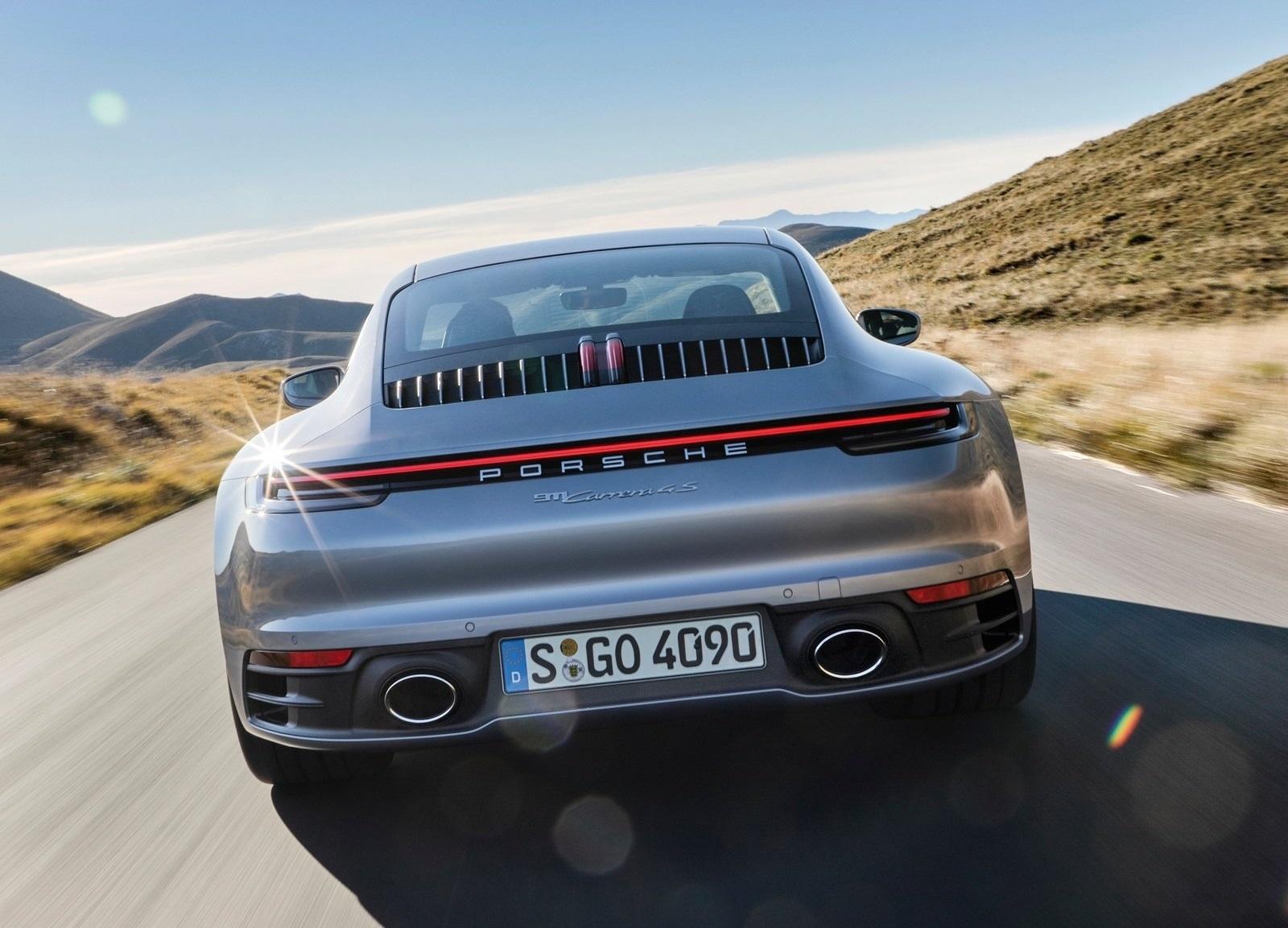 Porsche 911 Carrera 4s 2019 Trasera