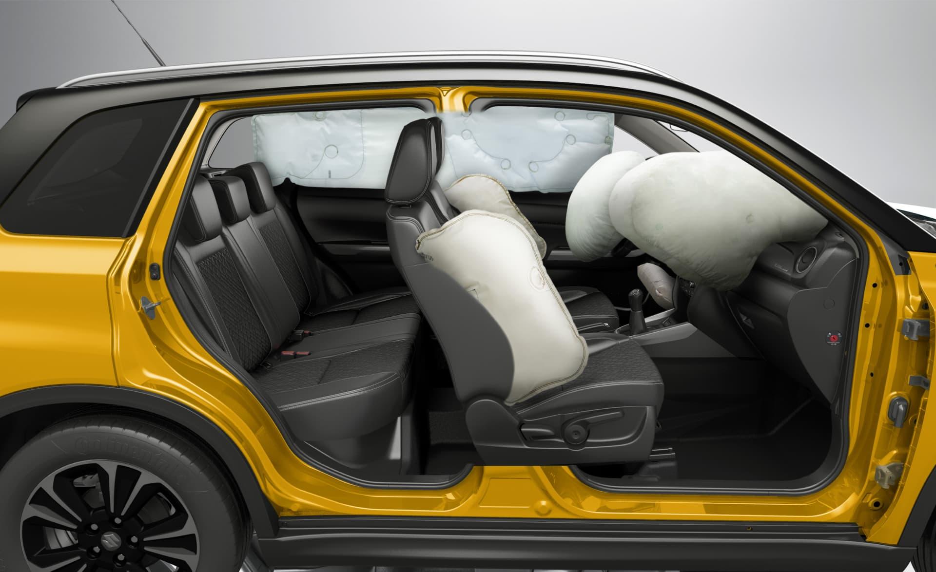 Suzuki Vitara 2018 Airbags