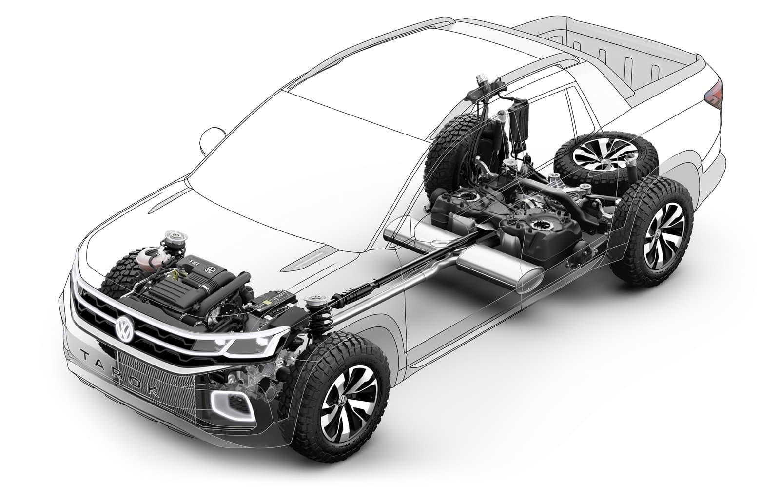 Volkswagen Tarok Concept 1118 009