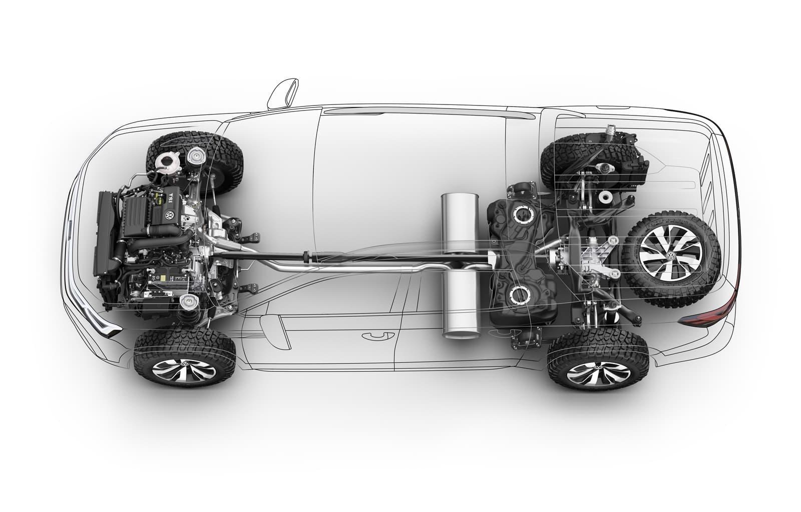 Volkswagen Tarok Concept 1118 011