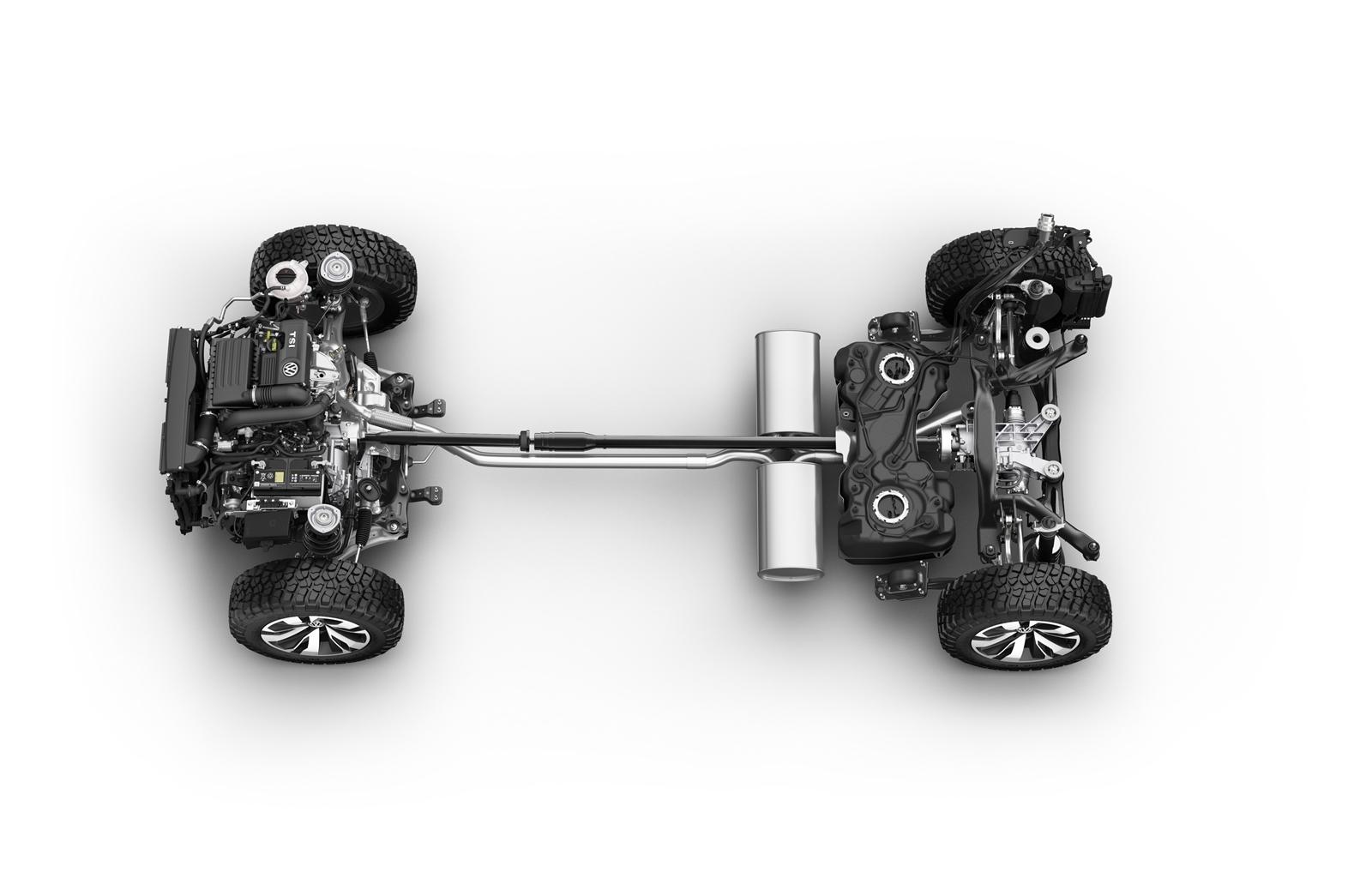 Volkswagen Tarok Concept 1118 012