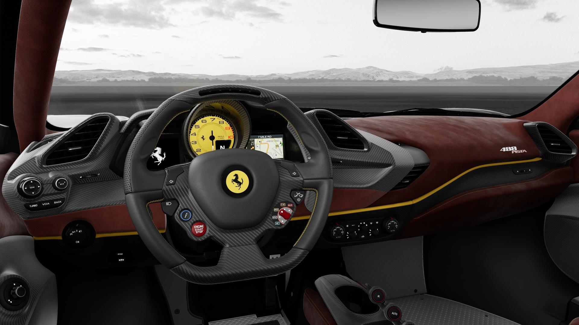 Configurador Ferrari 488 Pista 13