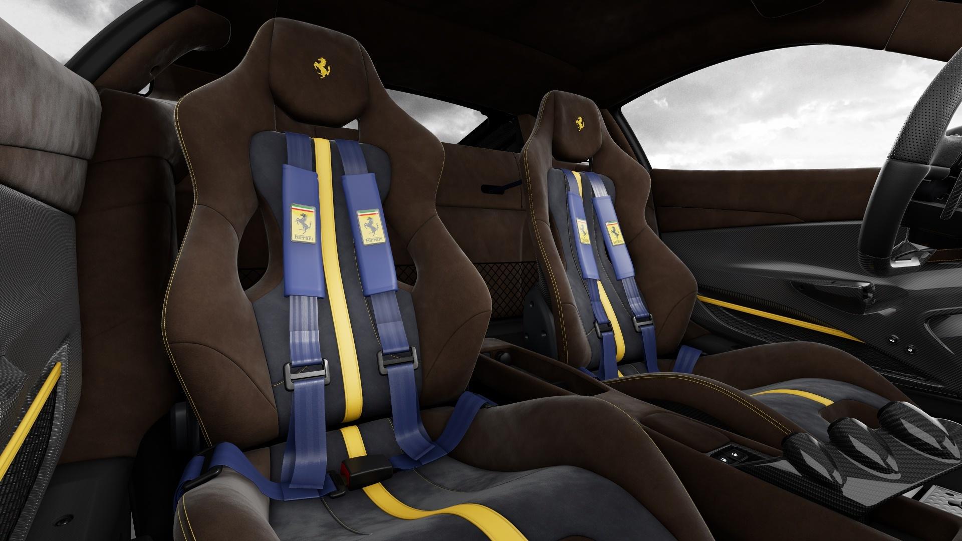 Configurador Ferrari 488 Pista Interior 04