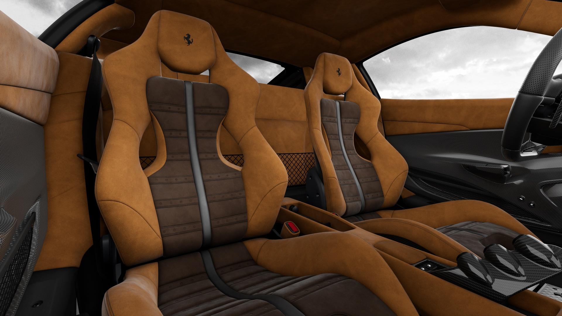 Configurador Ferrari 488 Pista Interior 05