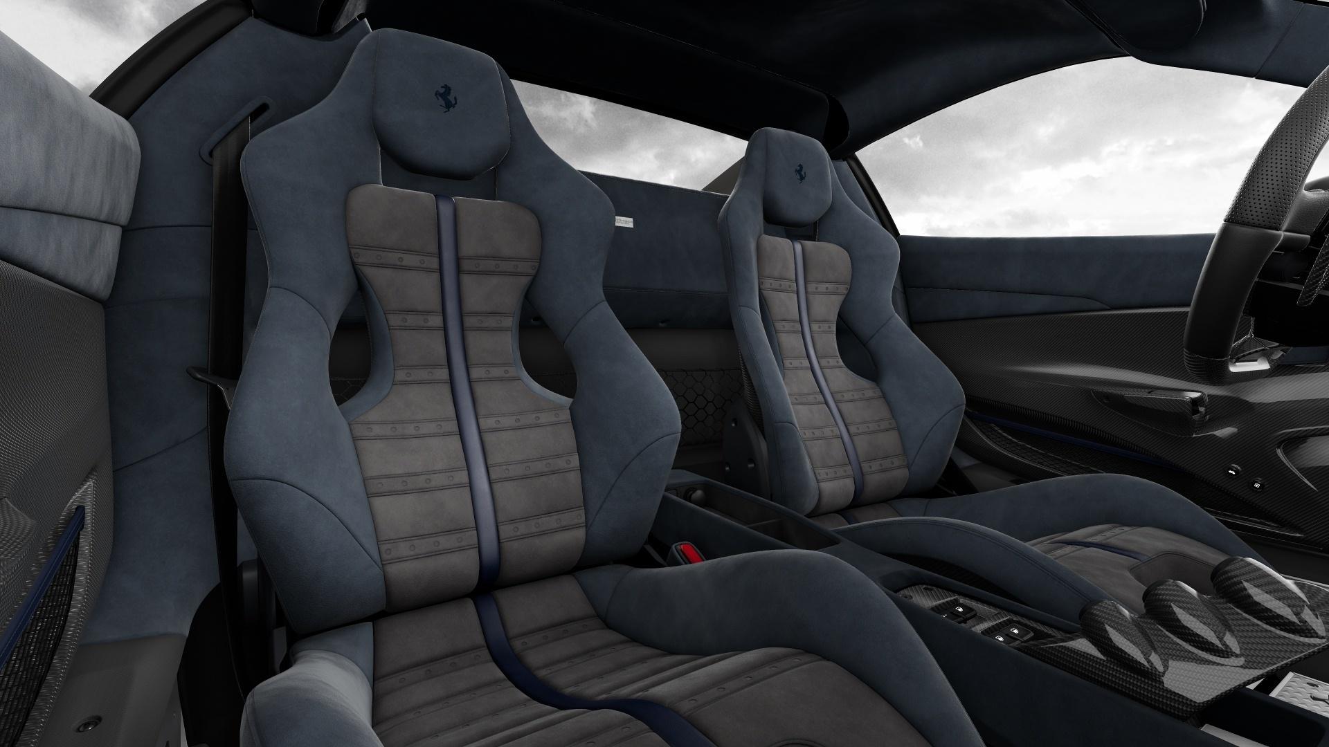 Configurador Ferrari 488 Pista Interior 07