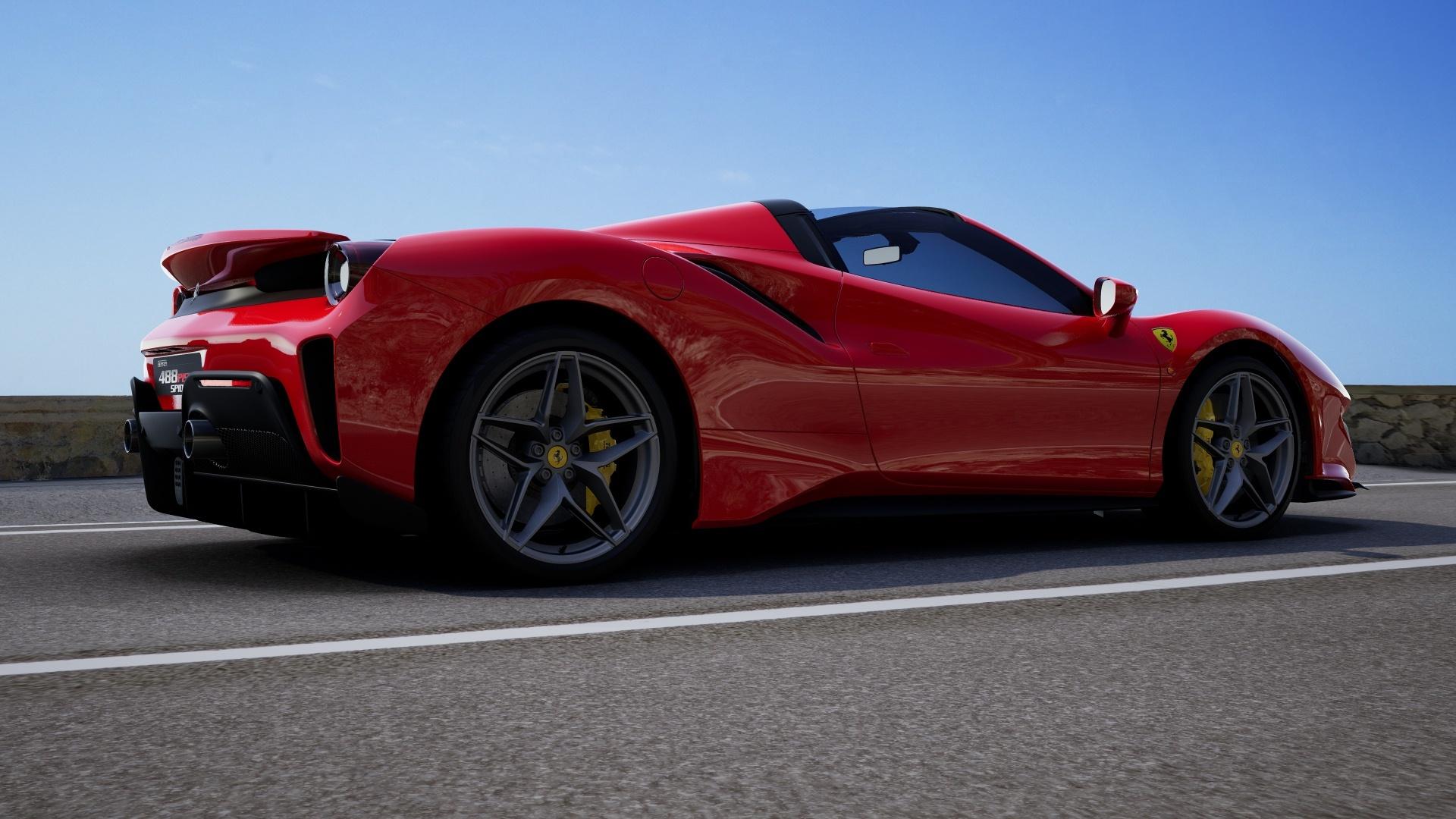 Configurador Ferrari 488 Pista Spider 11