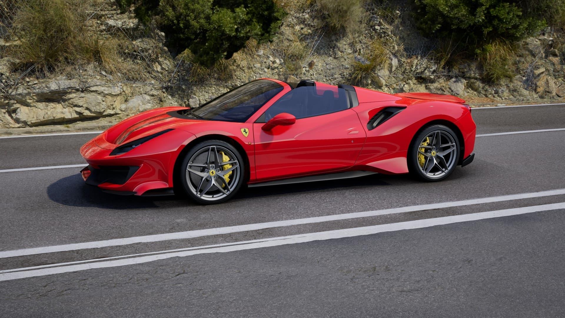 Configurador Ferrari 488 Pista Spider 13