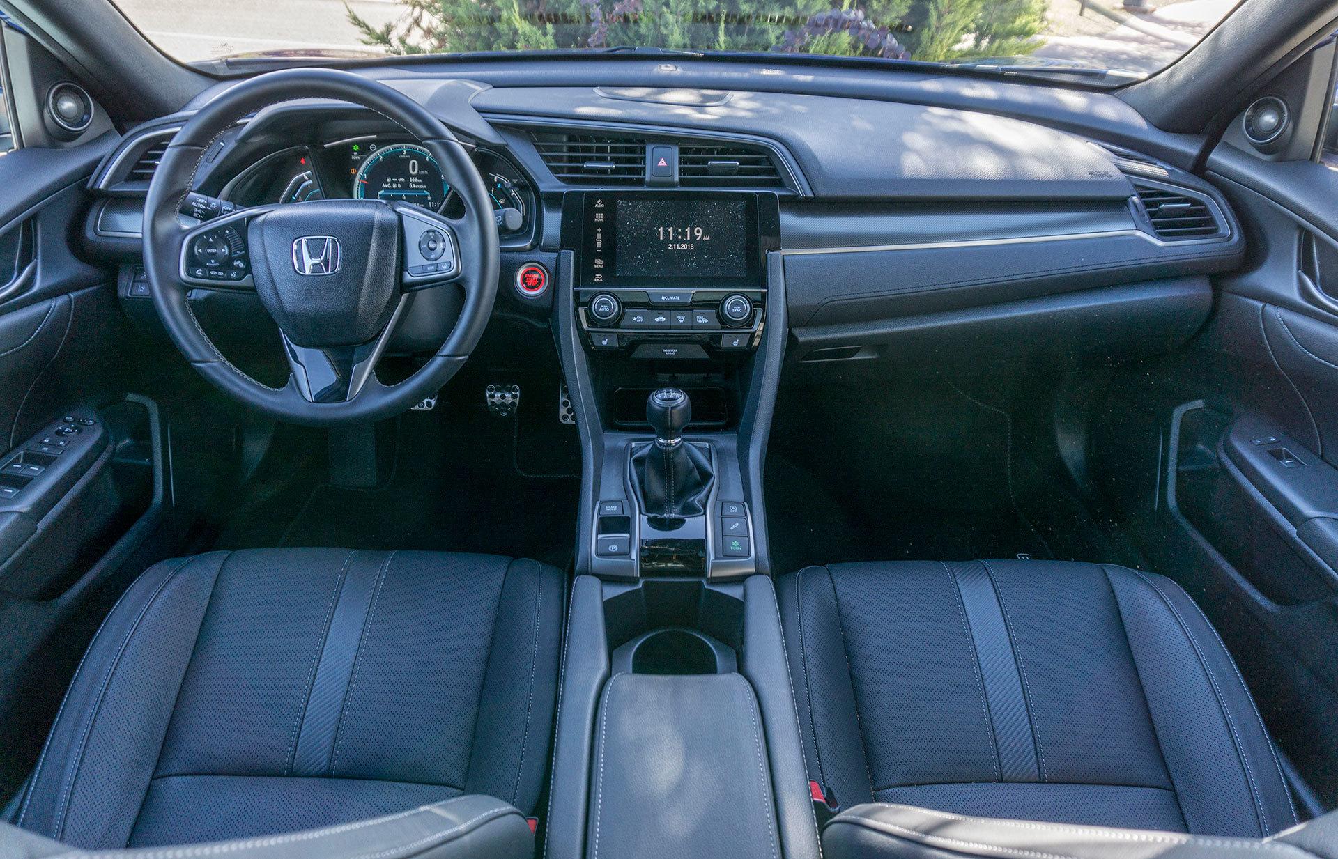Honda Civic Diesel 2019 Prueba 13
