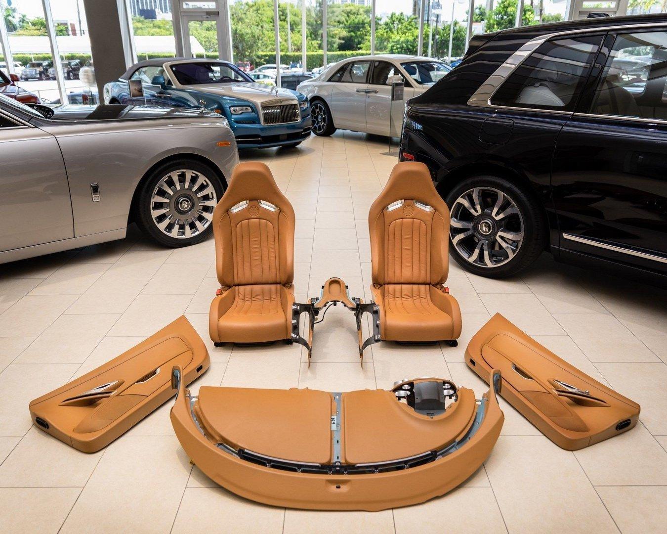 Interior Bugatti Veyron En Venta