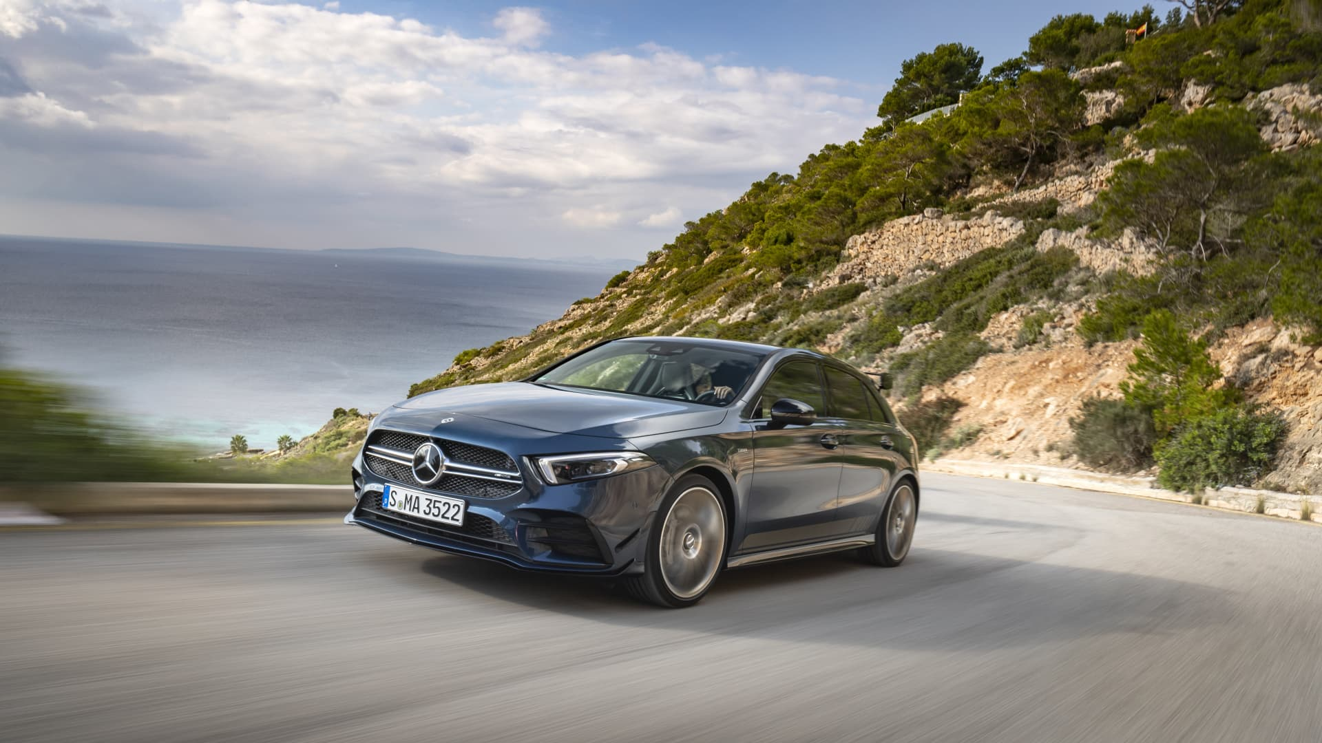 Der Neue Mercedes Amg A 35 4matic I Mallorca 2018 // The New Mercedes Amg 4matic I Mallorca 2018