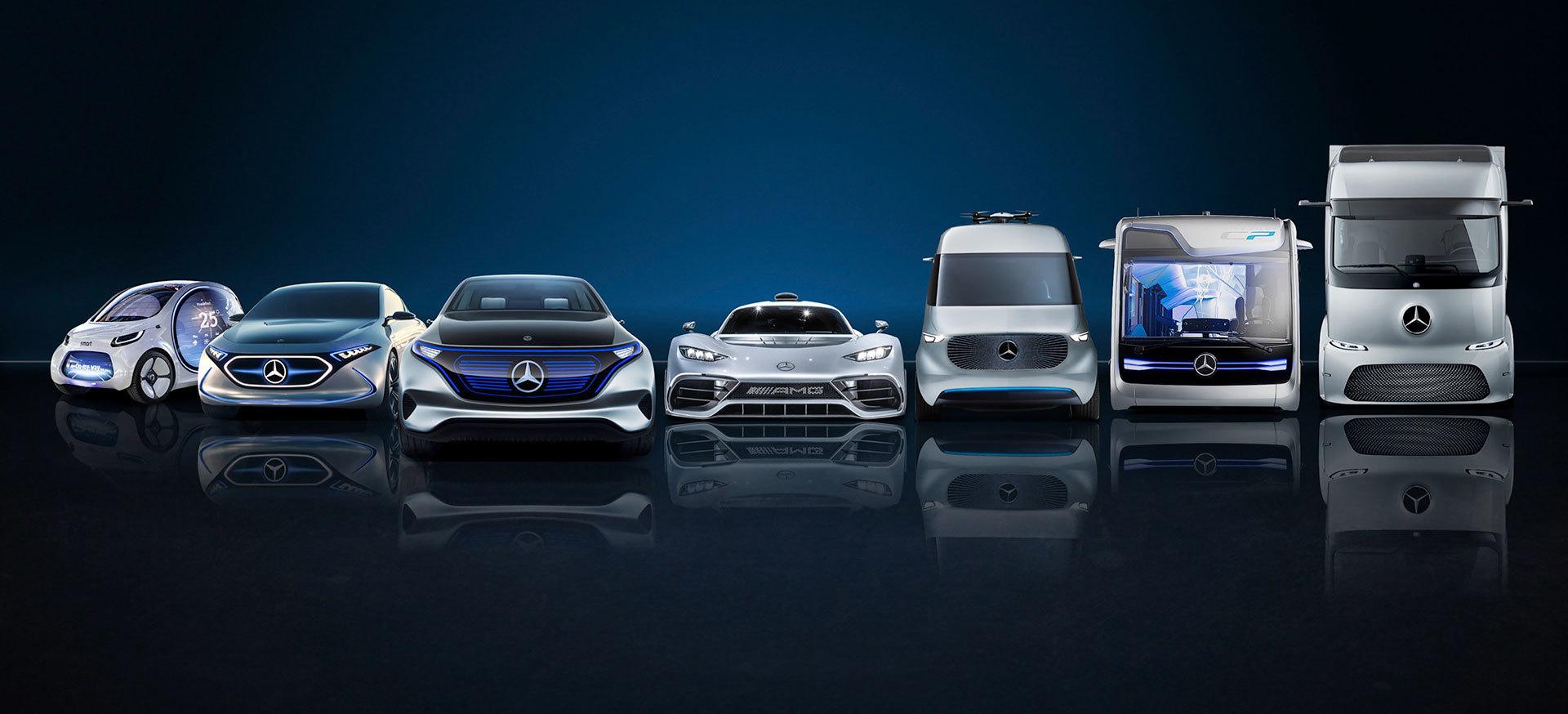 Mercedes Baterias Para Millones Coches Electricos