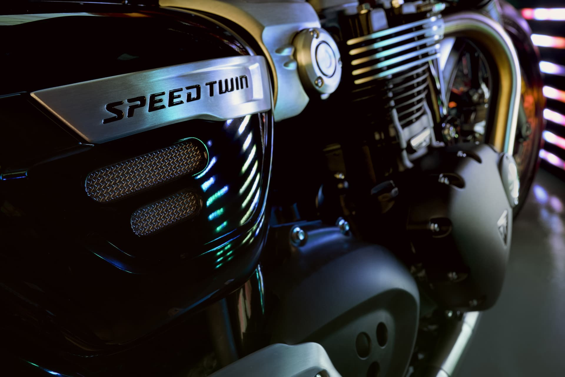 Triumph 2019 Speed Twin Engine Hero