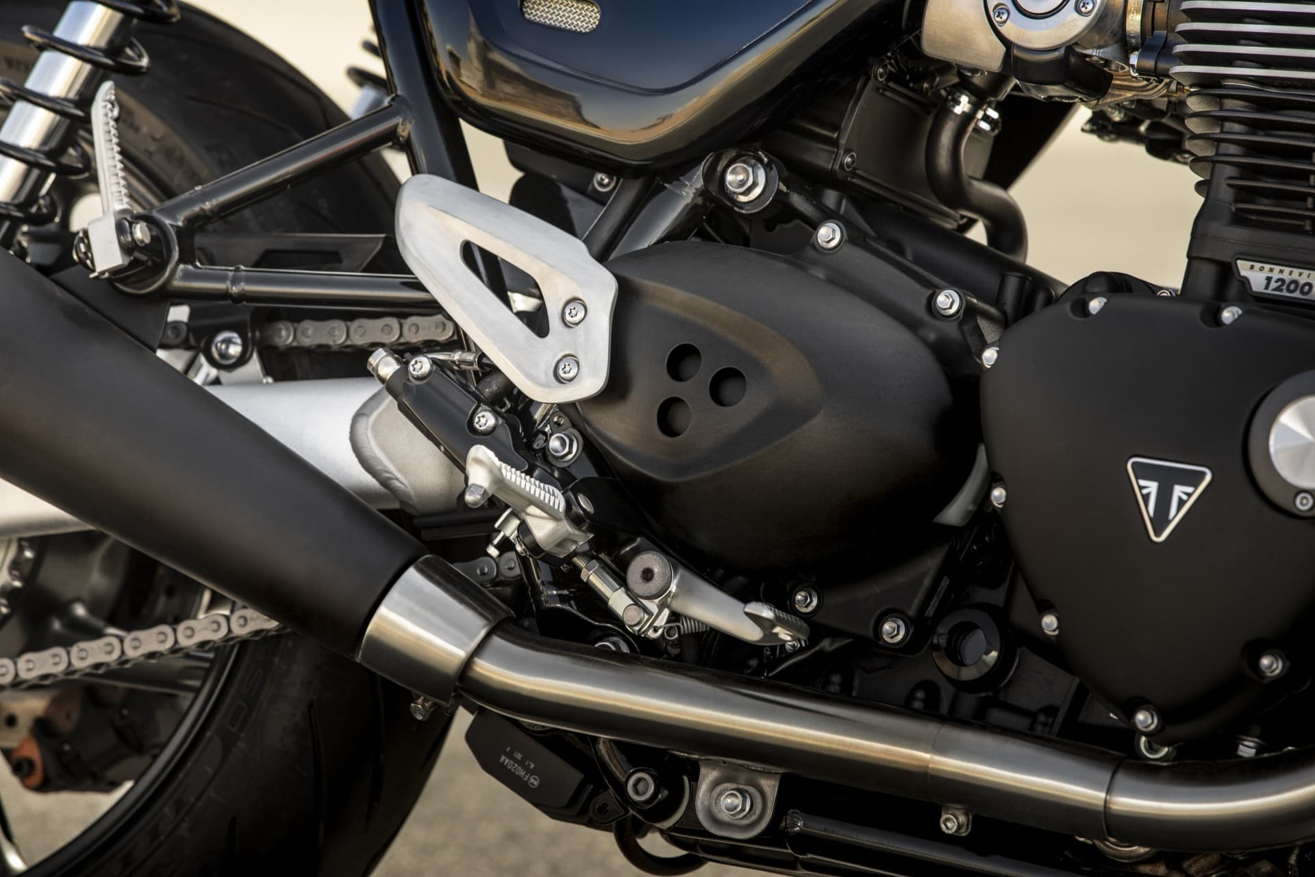 Triumph 2019 Speed Twin Heel Guard