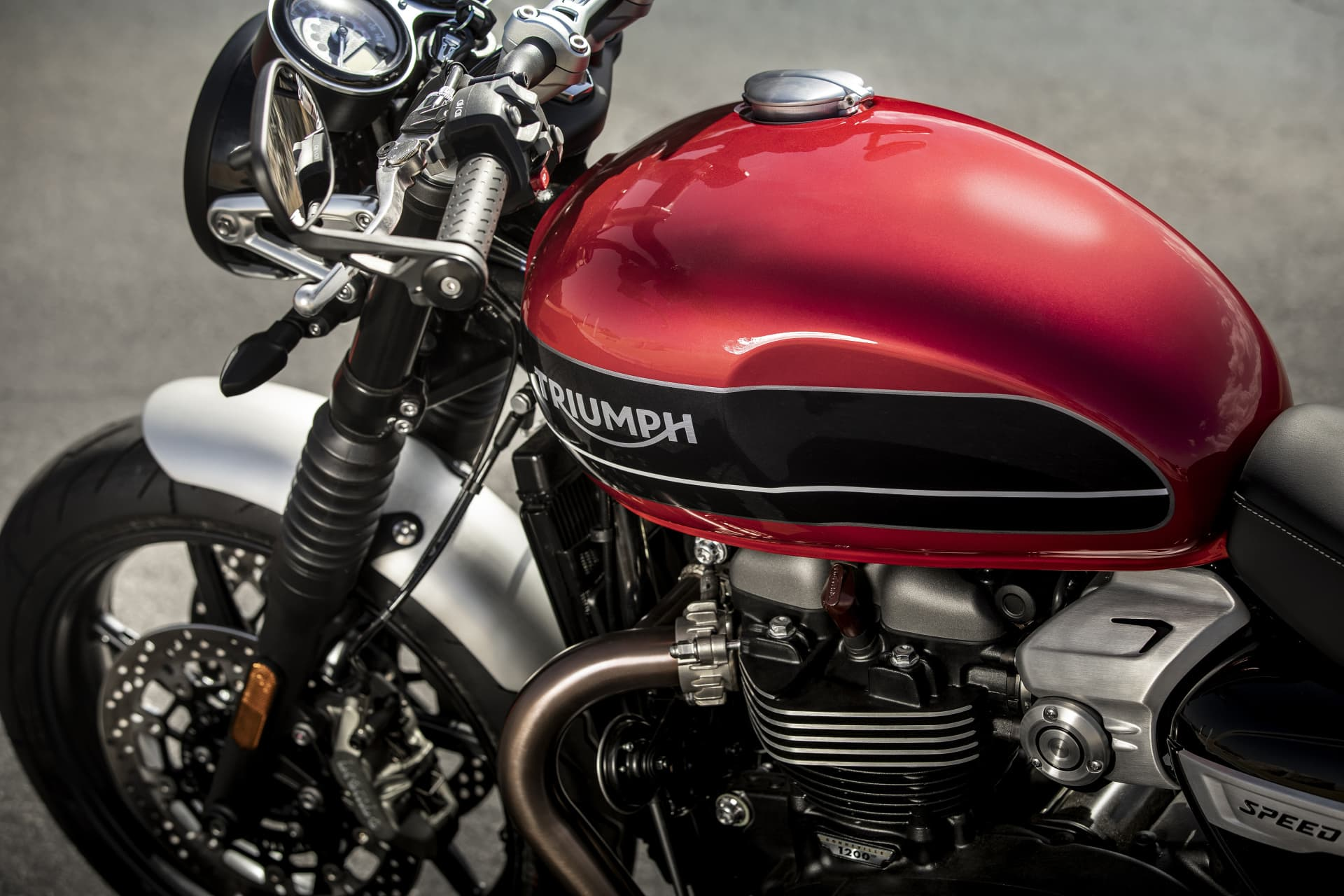 Triumph 2019 Speed Twin Tank