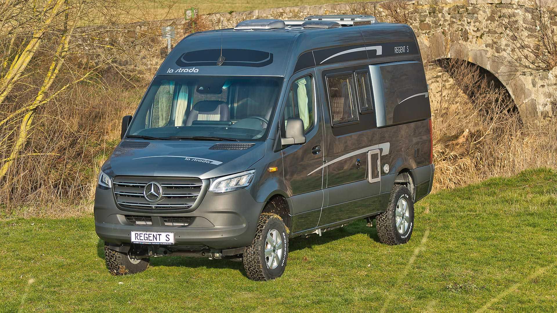 La Camper Definitiva Bien Podria Ser Esta Mercedes Sprinter 4x4 De La Strada Video Foto 4 De 15 Diariomotor