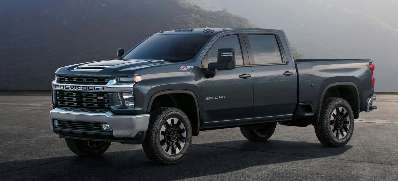 Chevrolet Silverado Heavy Duty, una parrilla gigantesca y ...