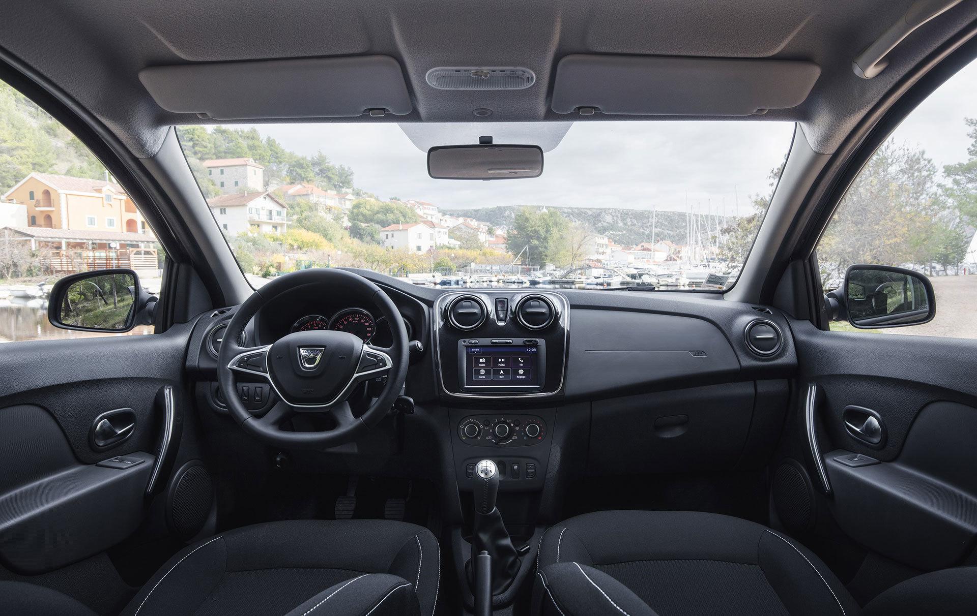 Dacia Sandero 2019 Marron Interior 10
