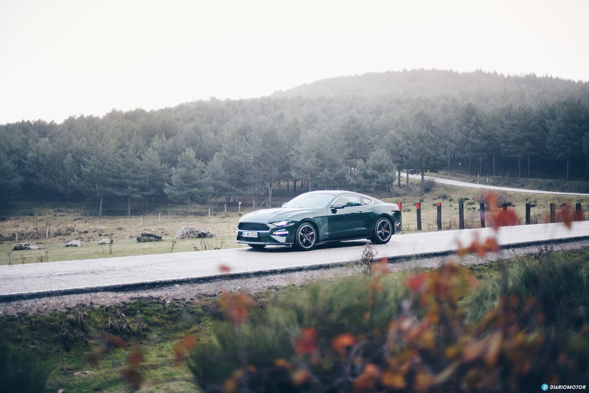 Ford Mustang Bullit Prueba Ford Mustang  19