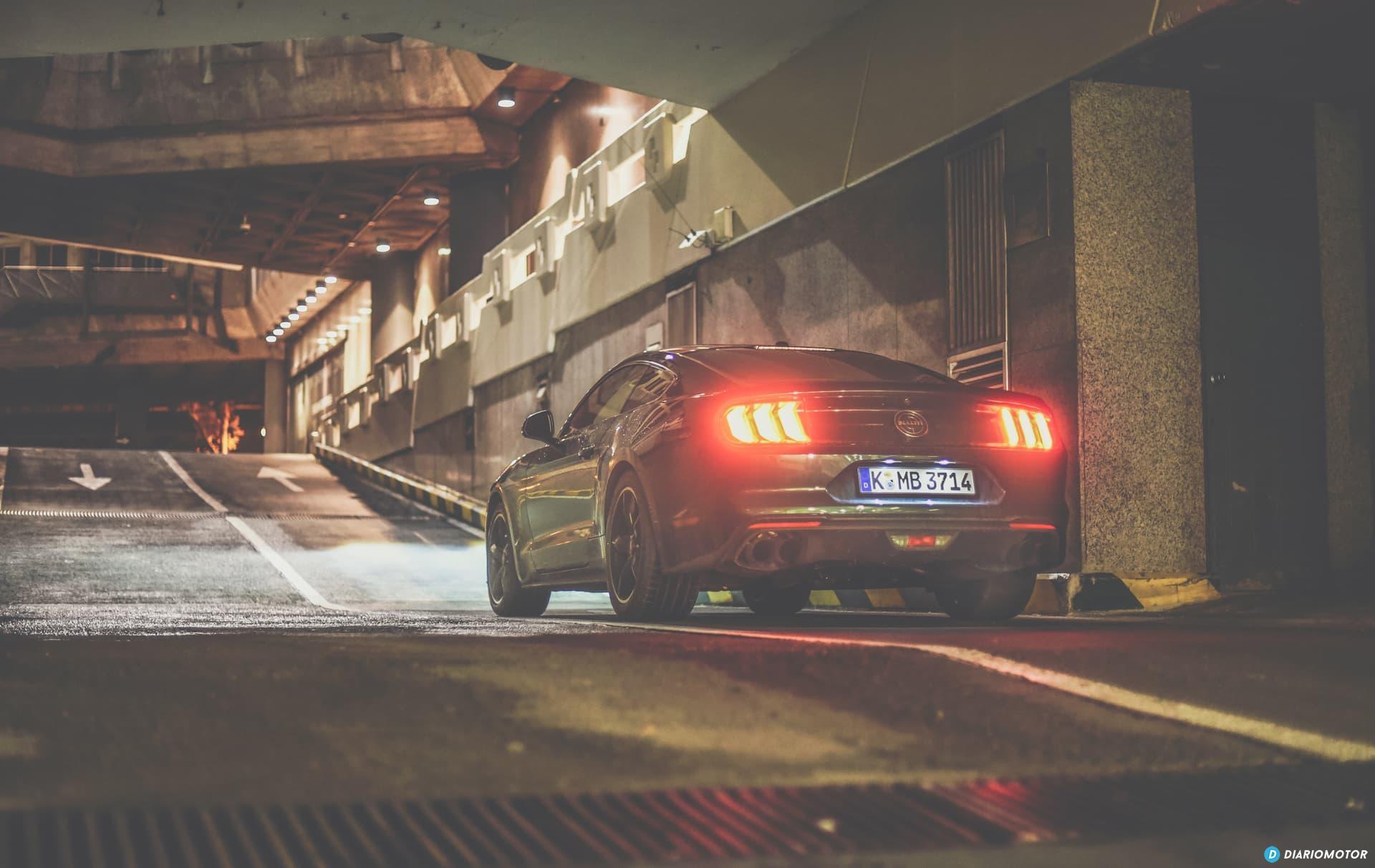 Ford Mustang Bullit Prueba Ford Mustang  27
