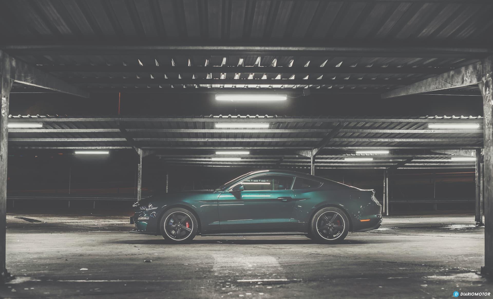 Ford Mustang Bullit Prueba Ford Mustang  31