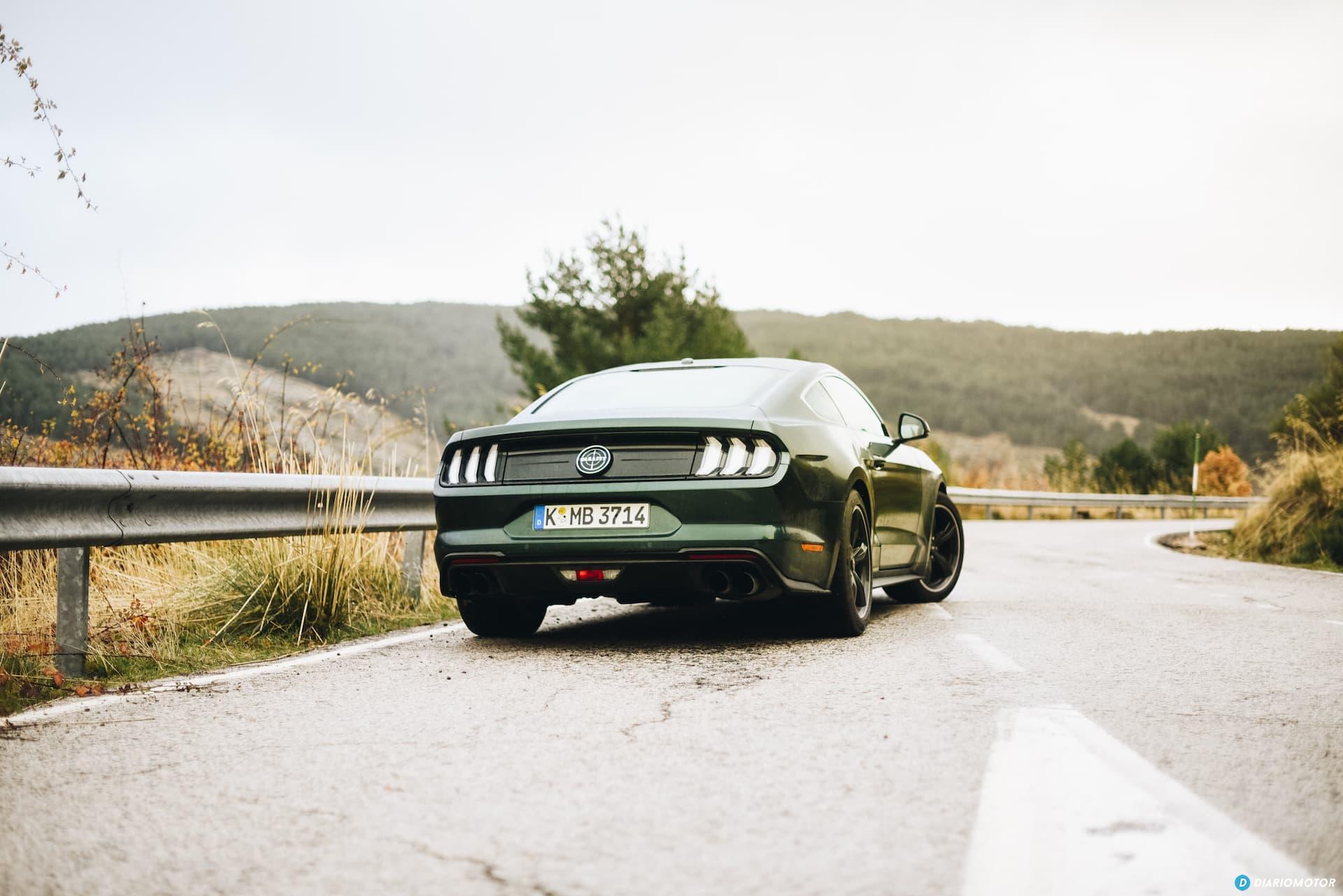 Ford Mustang Bullit Prueba Ford Mustang  7