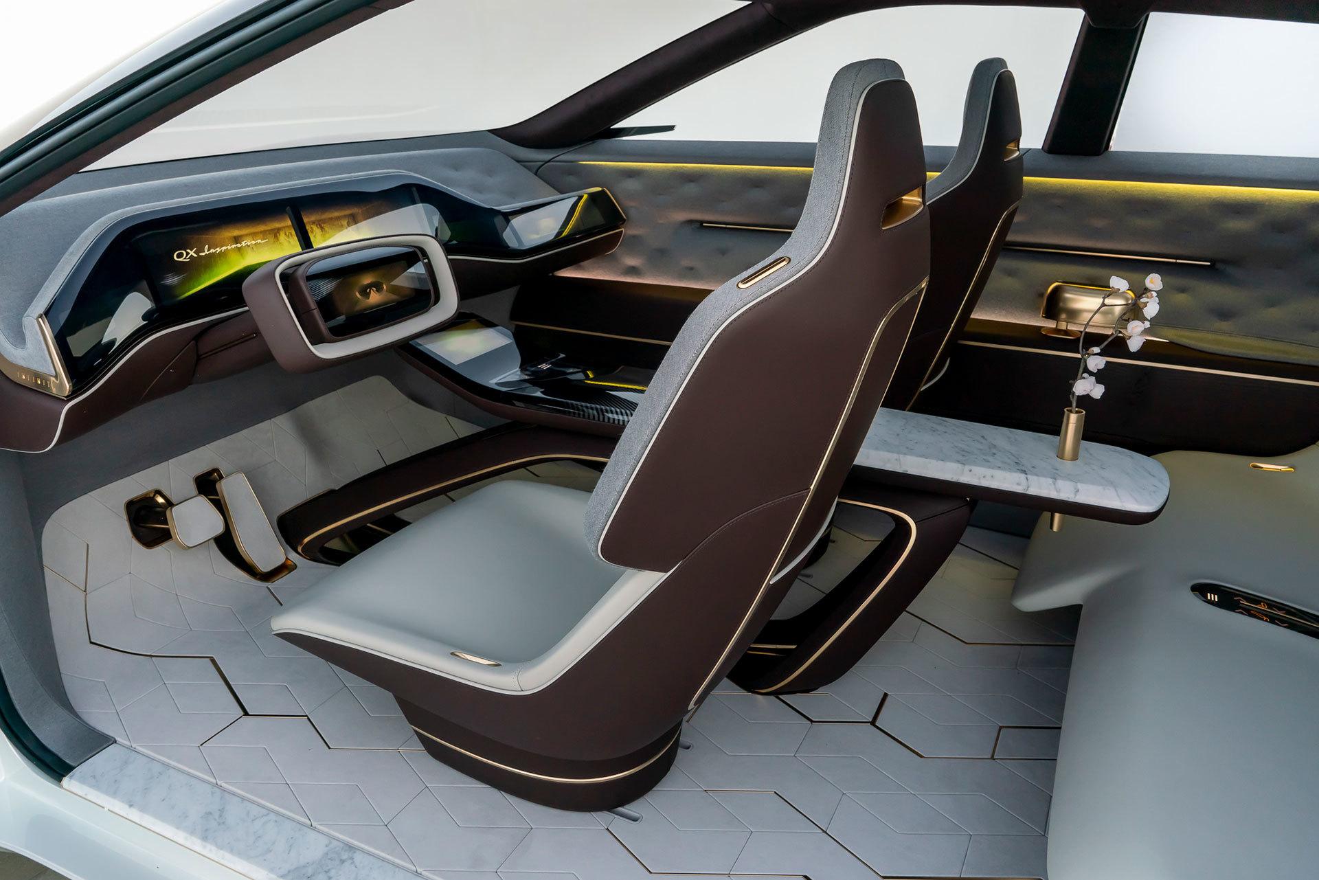 Infiniti Qx Concept Interior 01