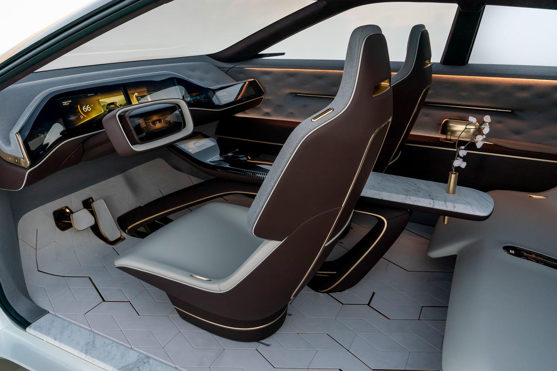 Infiniti Qx Concept Interior 03