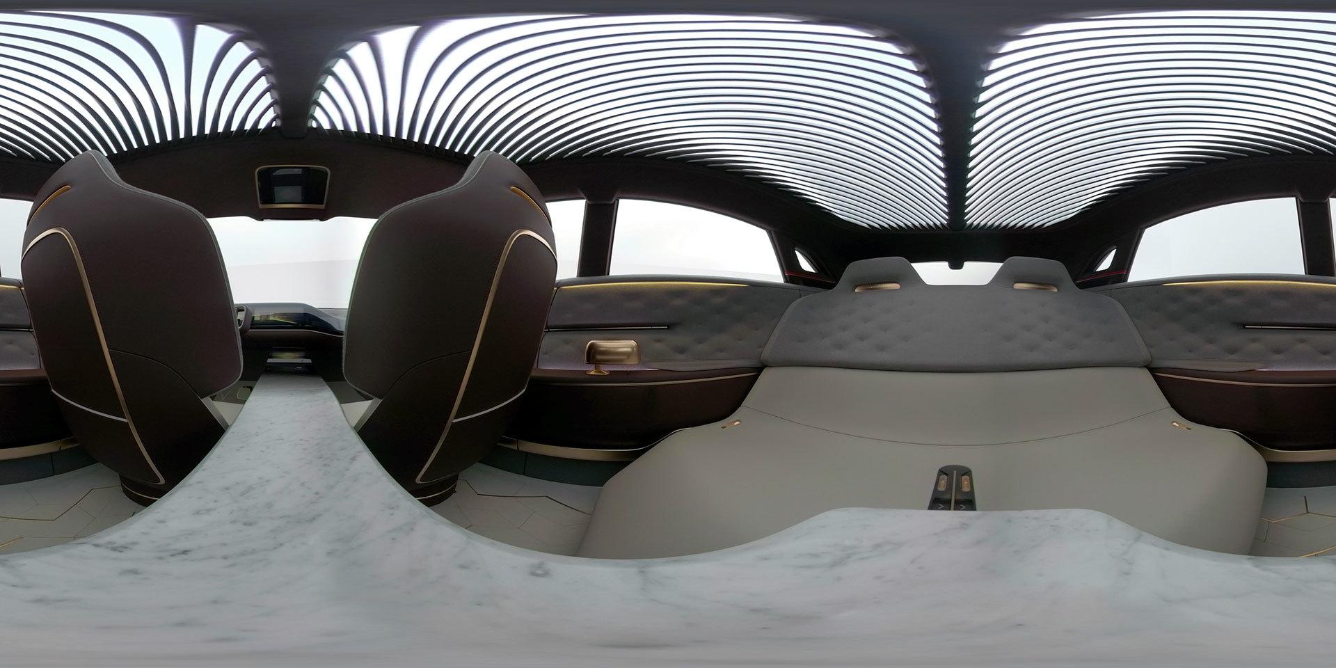 Infiniti Qx Concept Interior 06