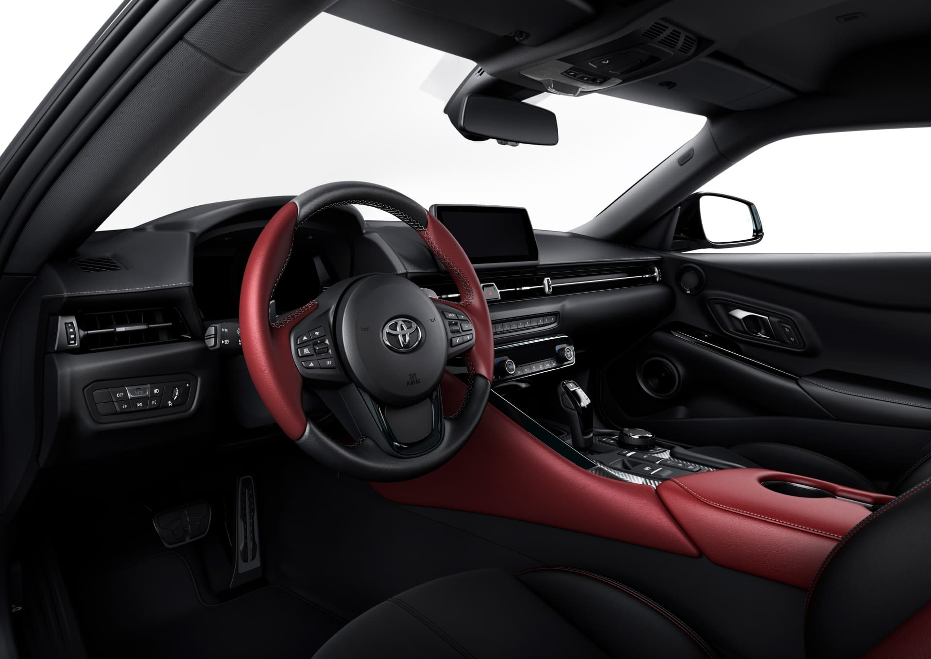 Interior Toyota Supra 20190114 02 05