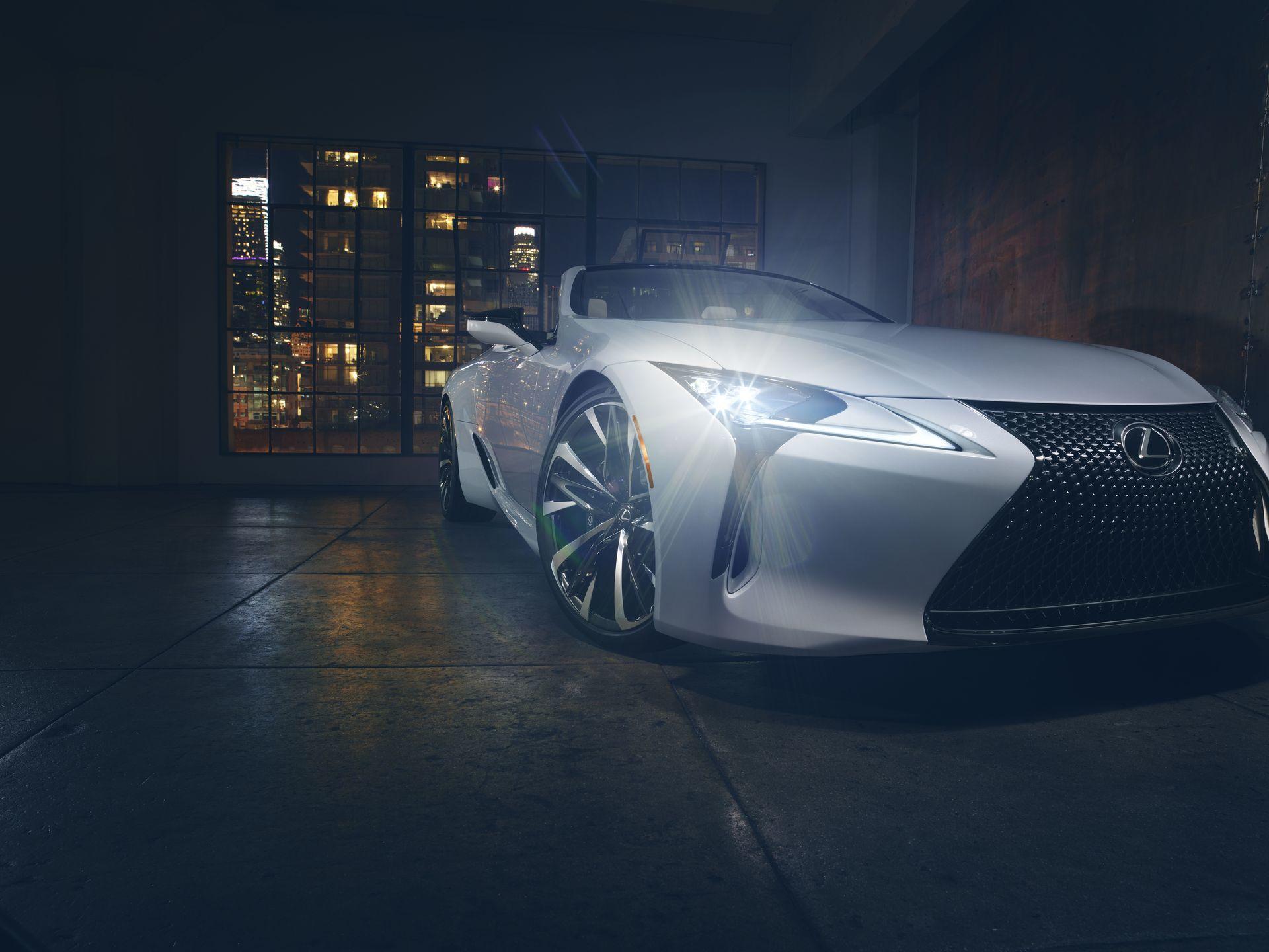 Lexus Lc Convertible Concept 1