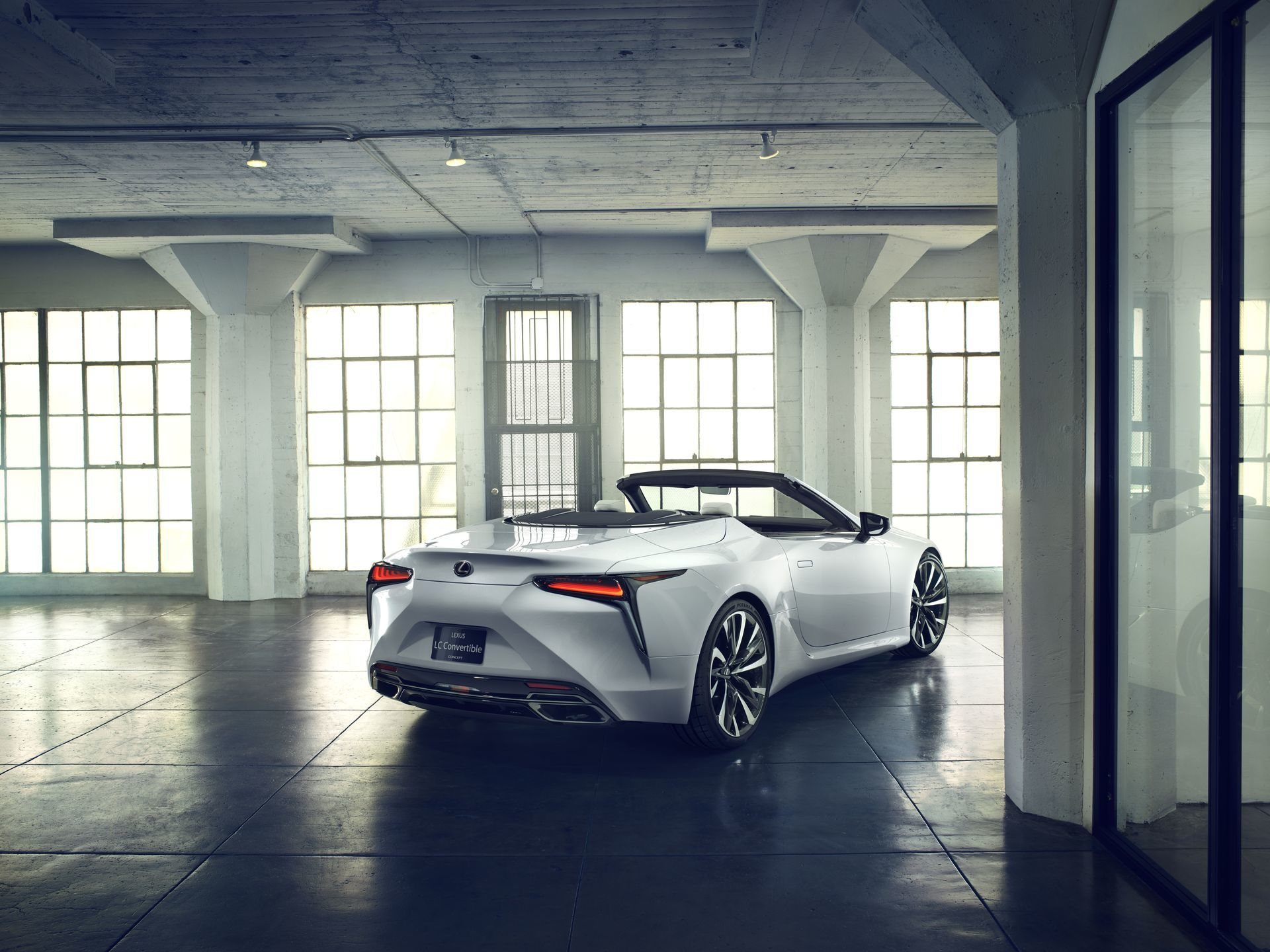 Lexus Lc Convertible Concept 8