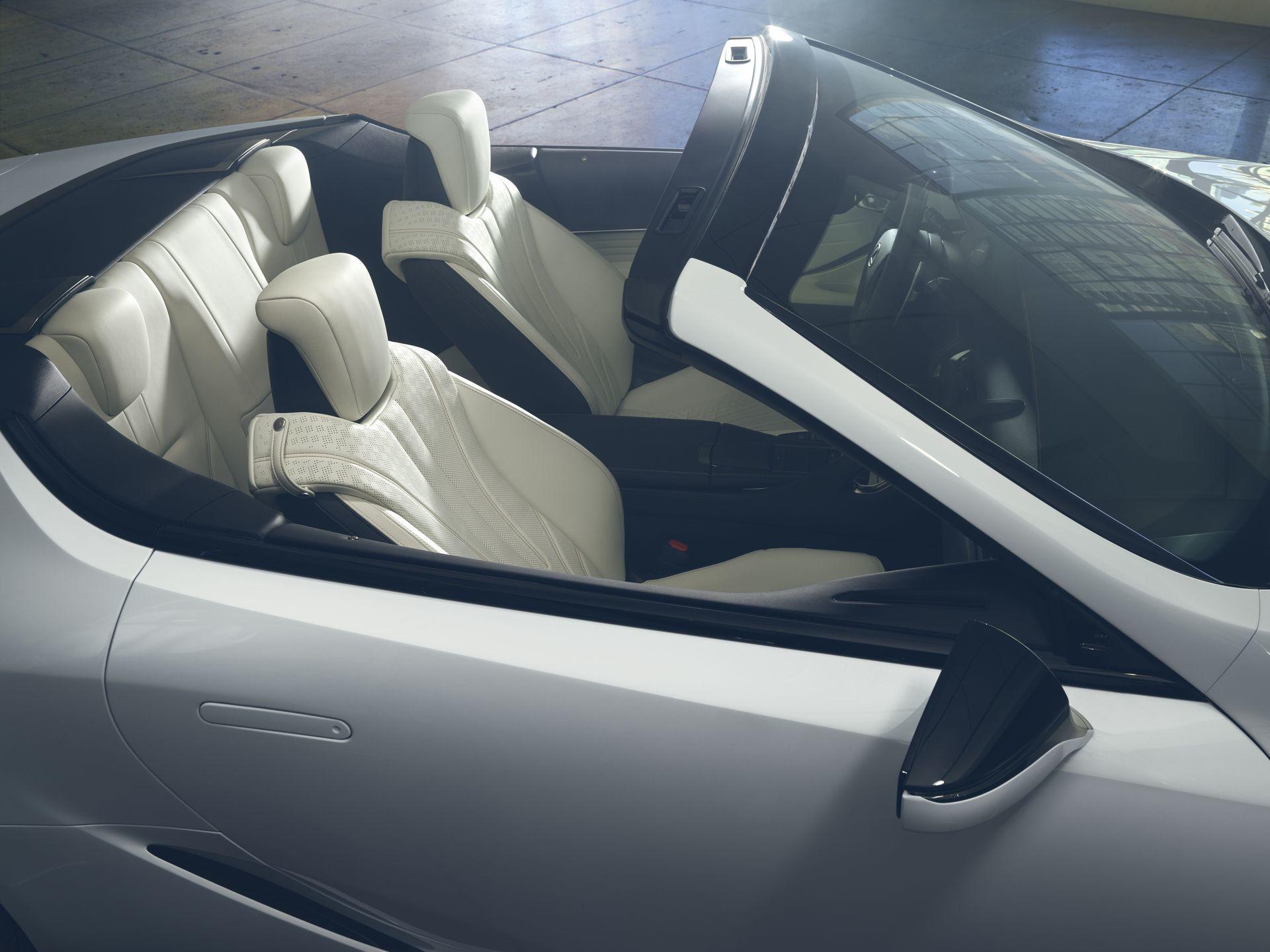 Lexus Lc Convertible Concept Interior 2