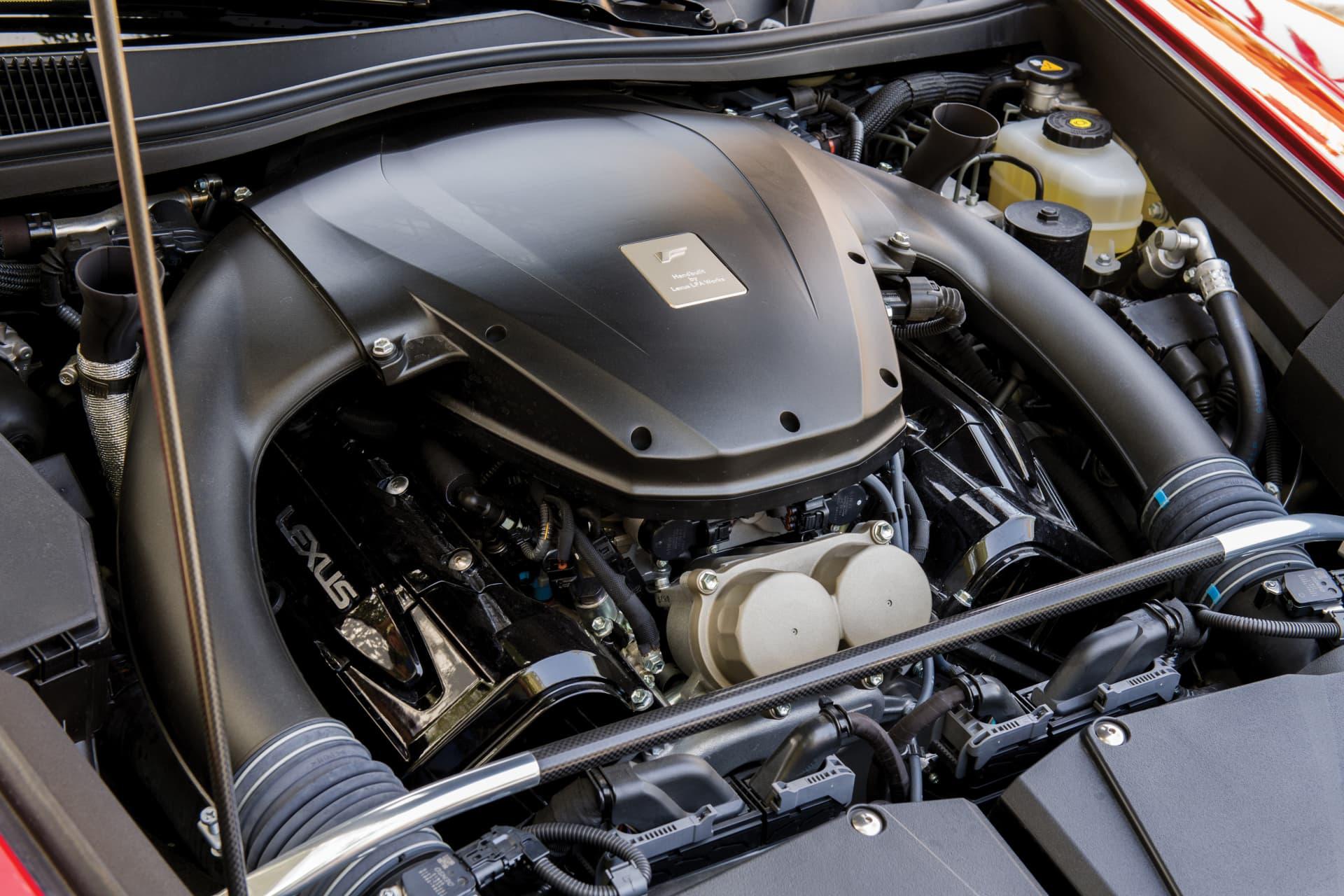 Lexus Lfa Motor 0119 01