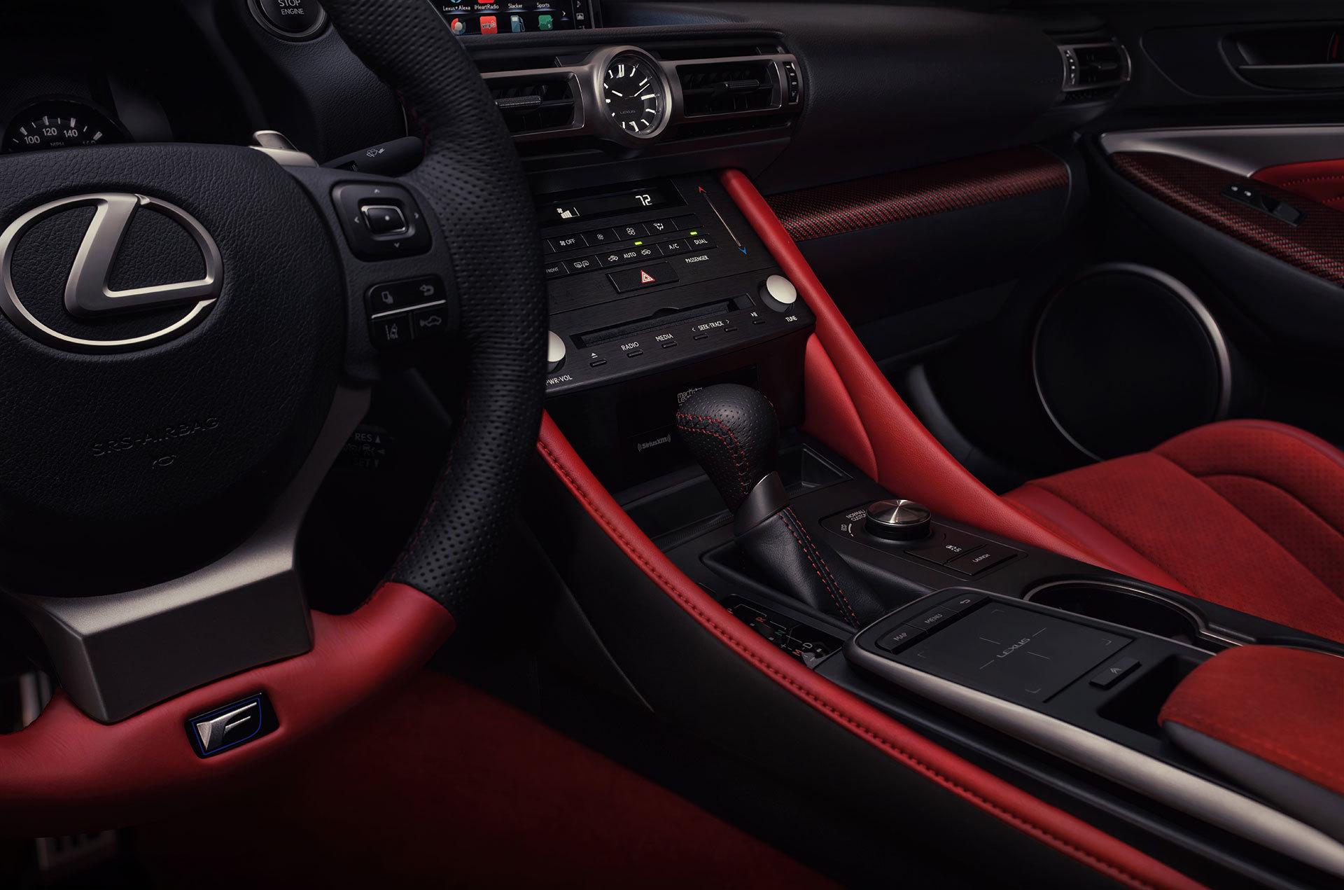 Lexus Rc F 2019 Interior 02