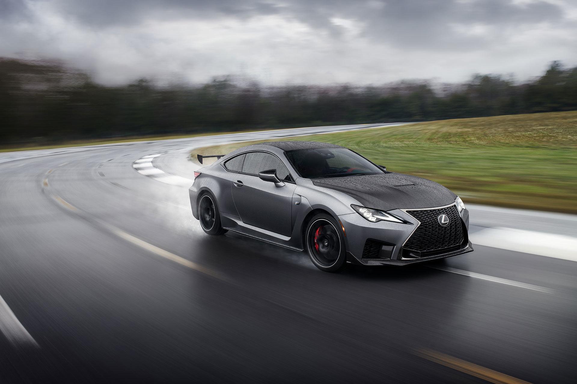 Lexus Rc F 2019 Track Edition Gris 01 Circuito