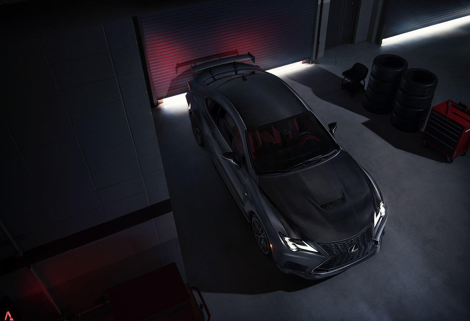 Lexus Rc F 2019 Track Edition Gris 03